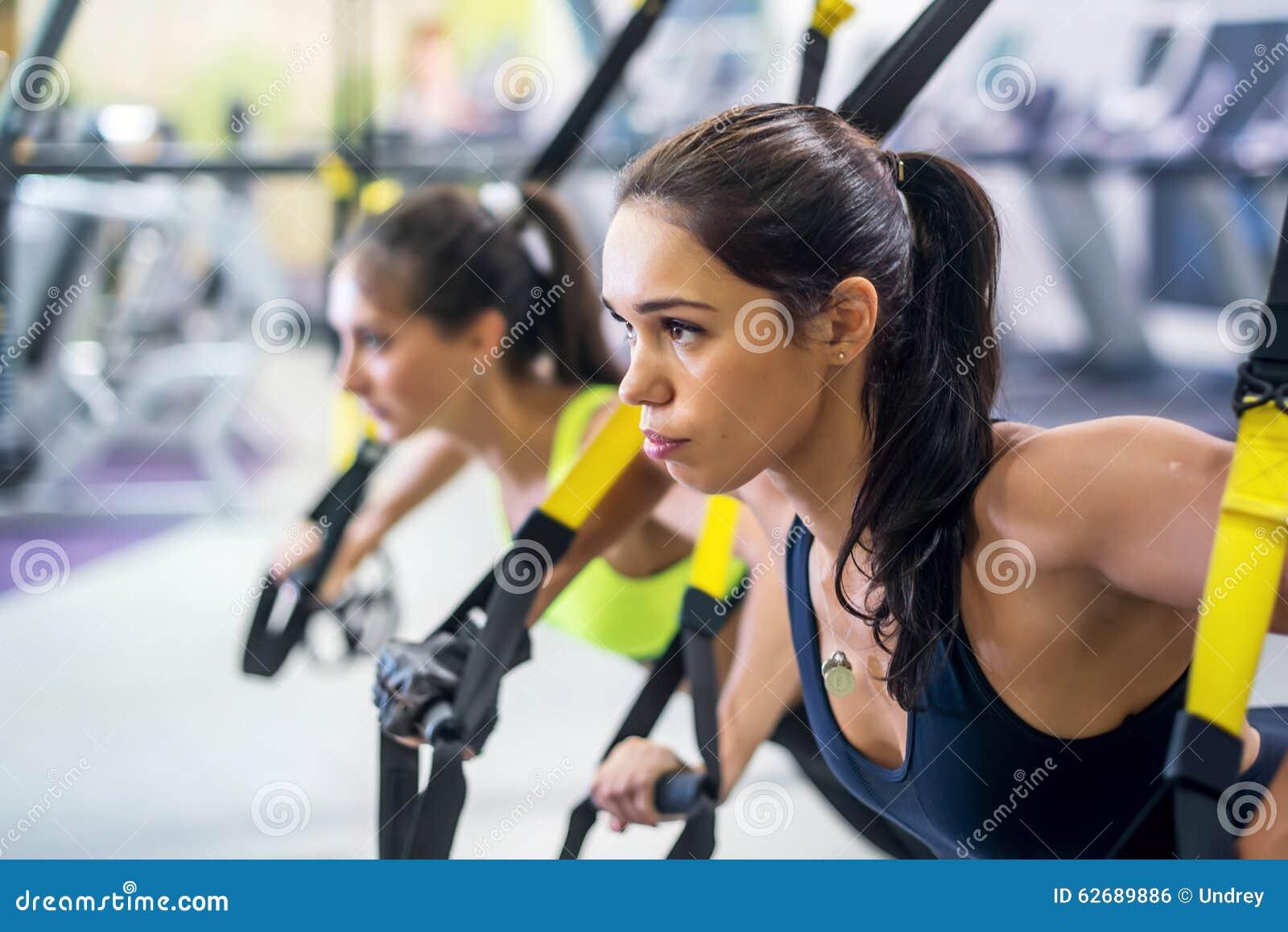 Sprawności fizycznej trx zawieszenie troczy ćwiczenia szkoleniowe