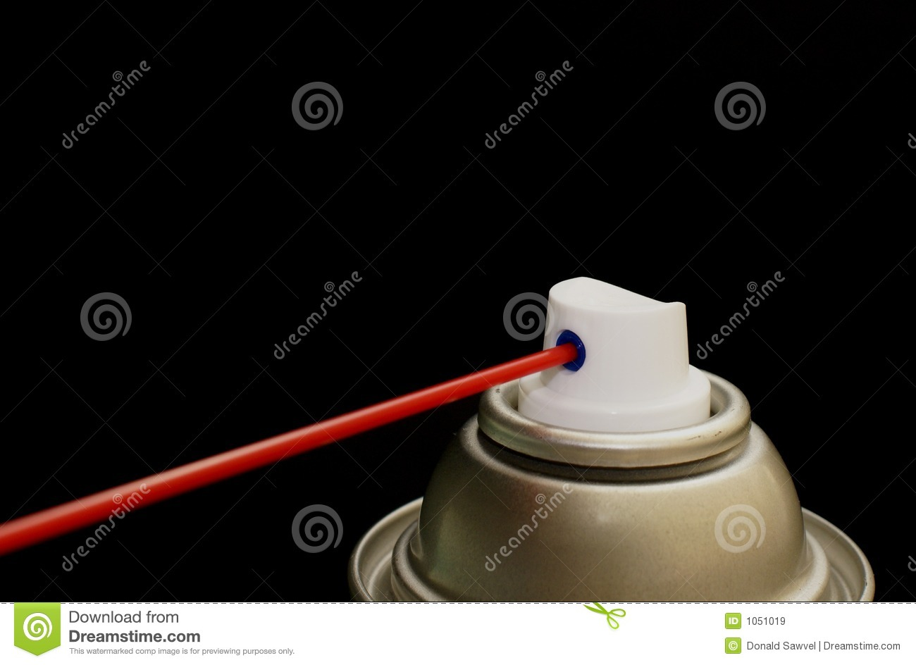 Spray can nozzle royalty free stock images image