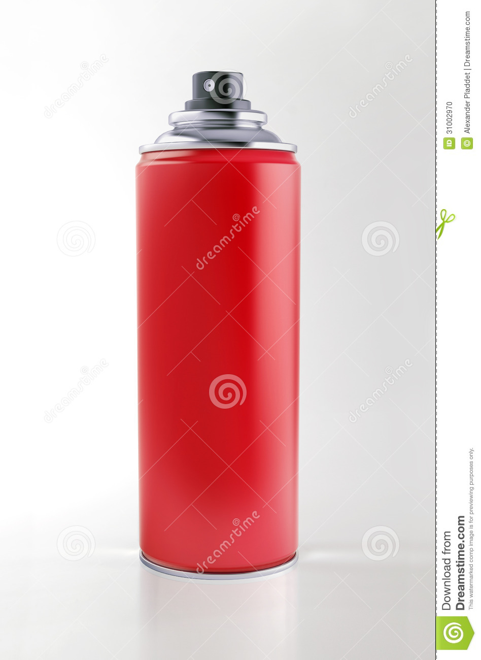 Spray Can Stock Photo Image 31002970