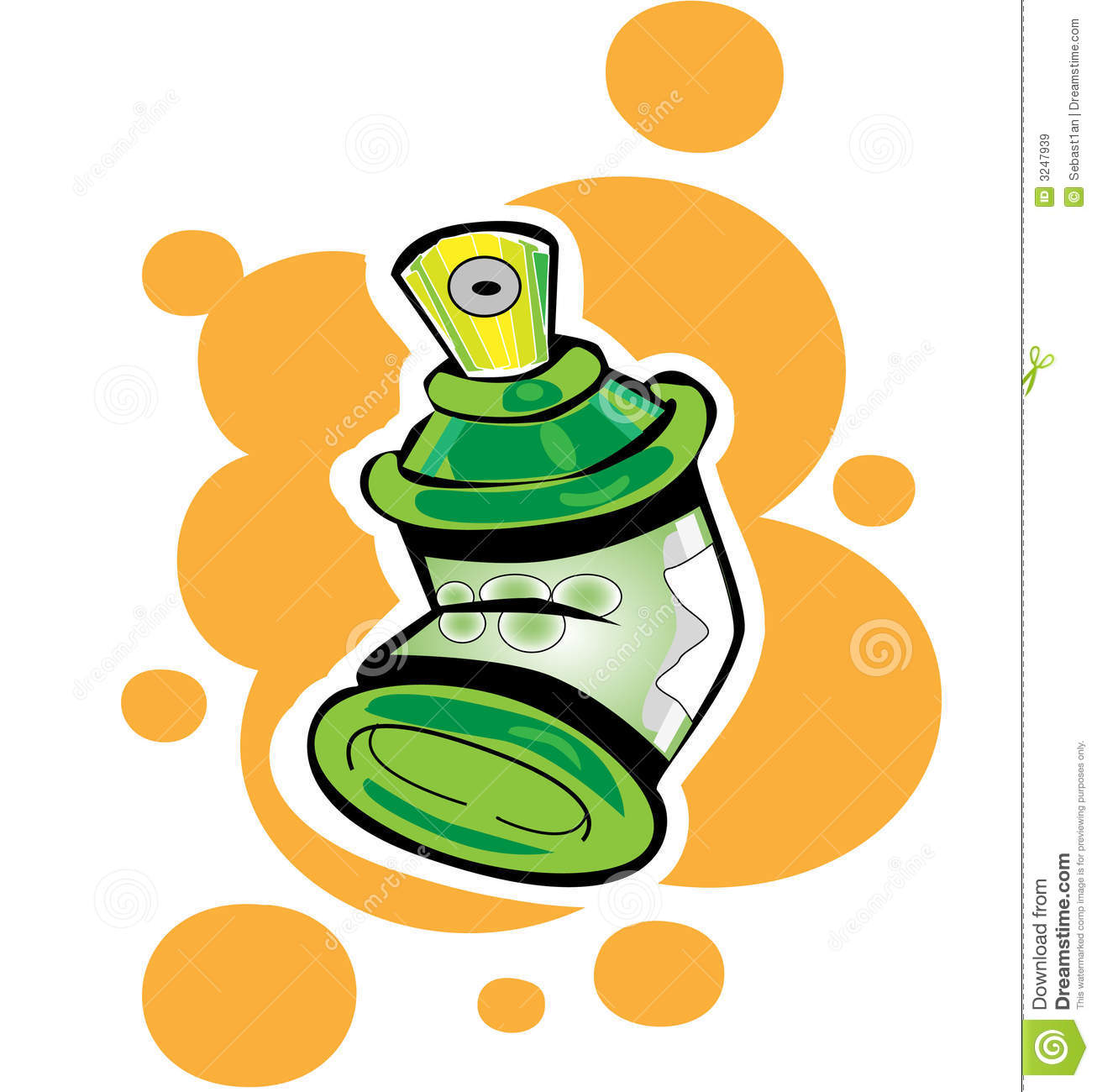 Spray Cans Royalty Free Stock Images - Image: 3247939