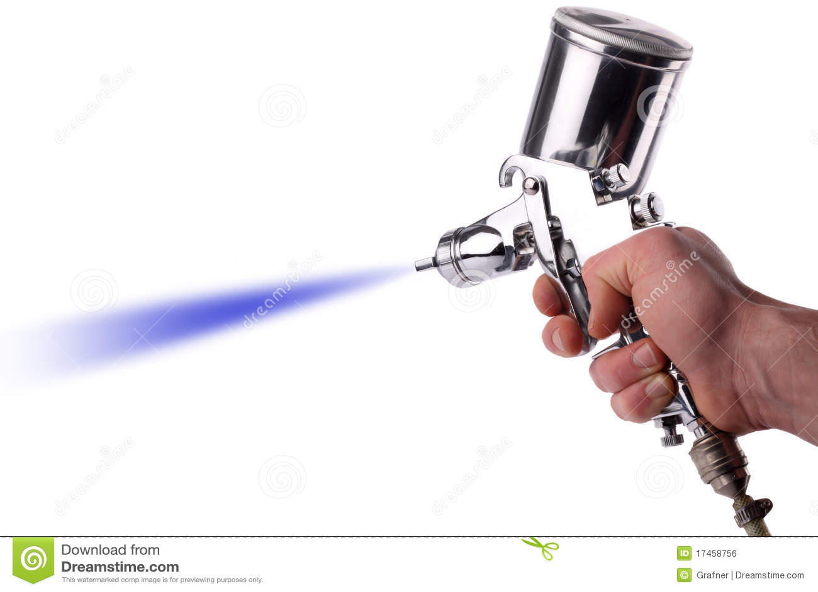 Spray gun stock photo image of repair workshop self - Pistola de pintar ...