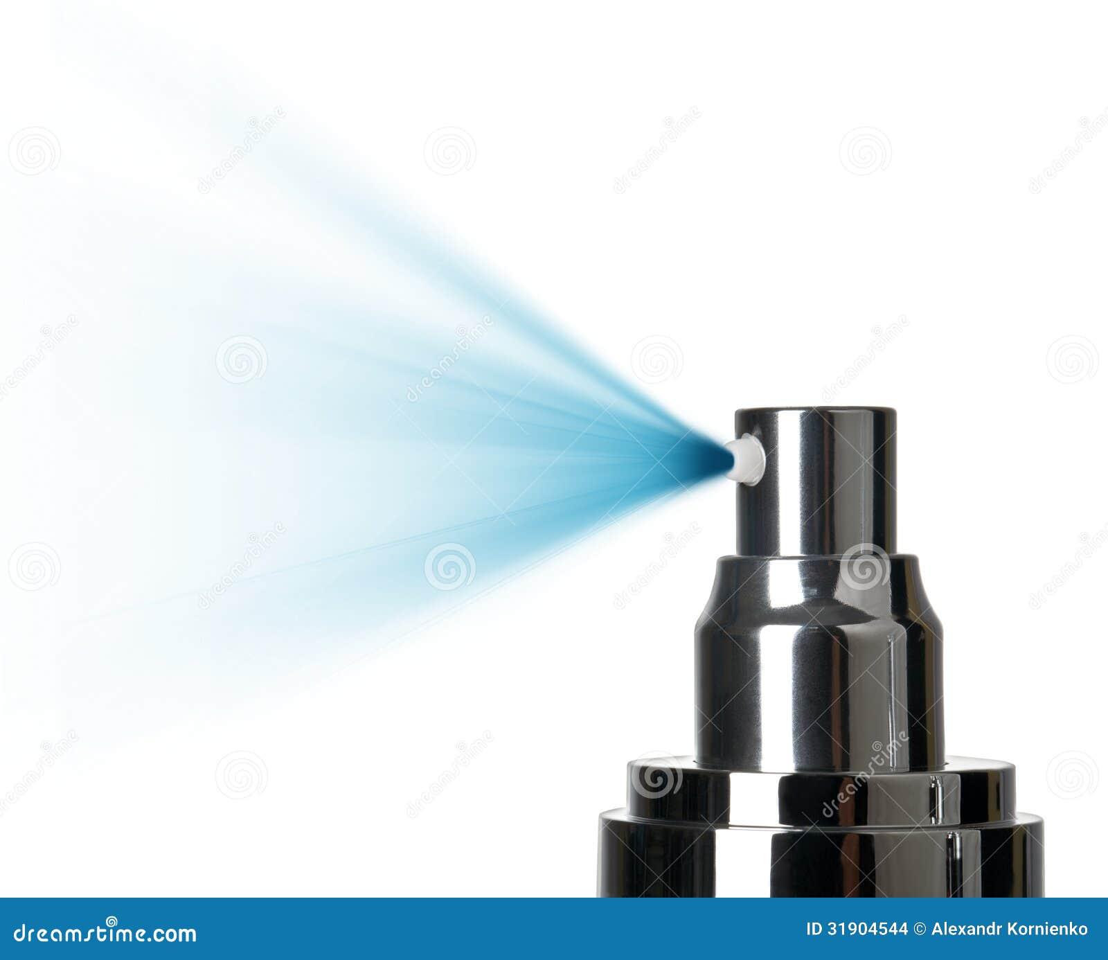 Spray nozzle close-up