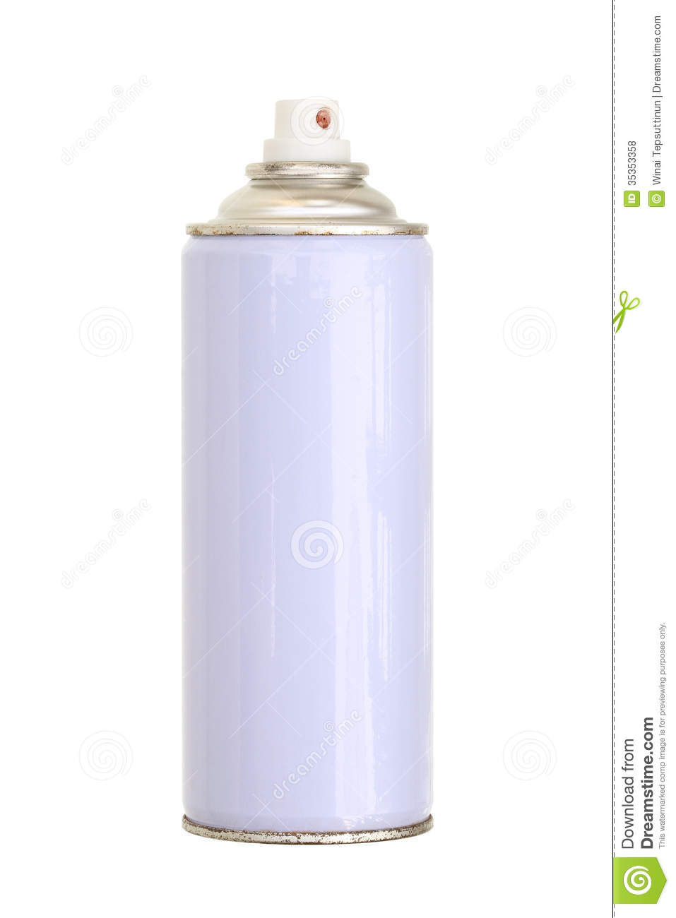 Spray paint can stock photo image of metal isolated 35353358 Paint with spray can