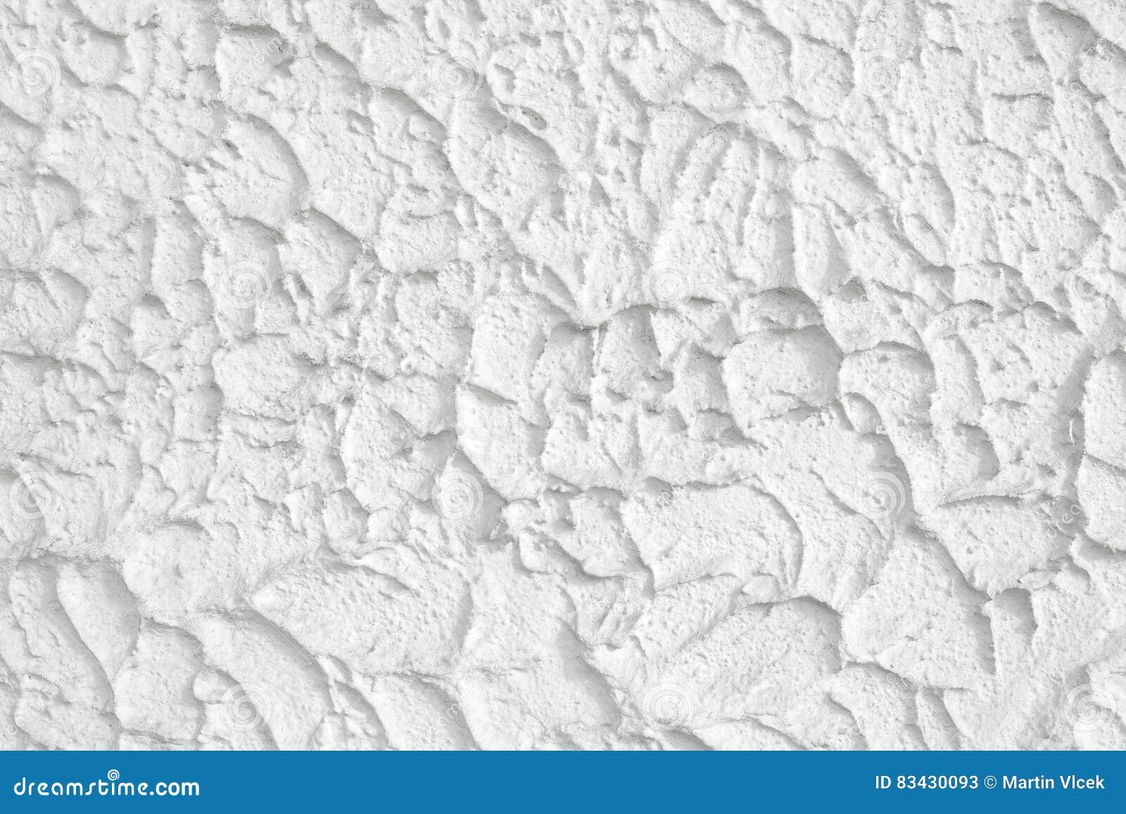 Sprayed White Plaster Stock Image Image Of Facade Architecture 83430093