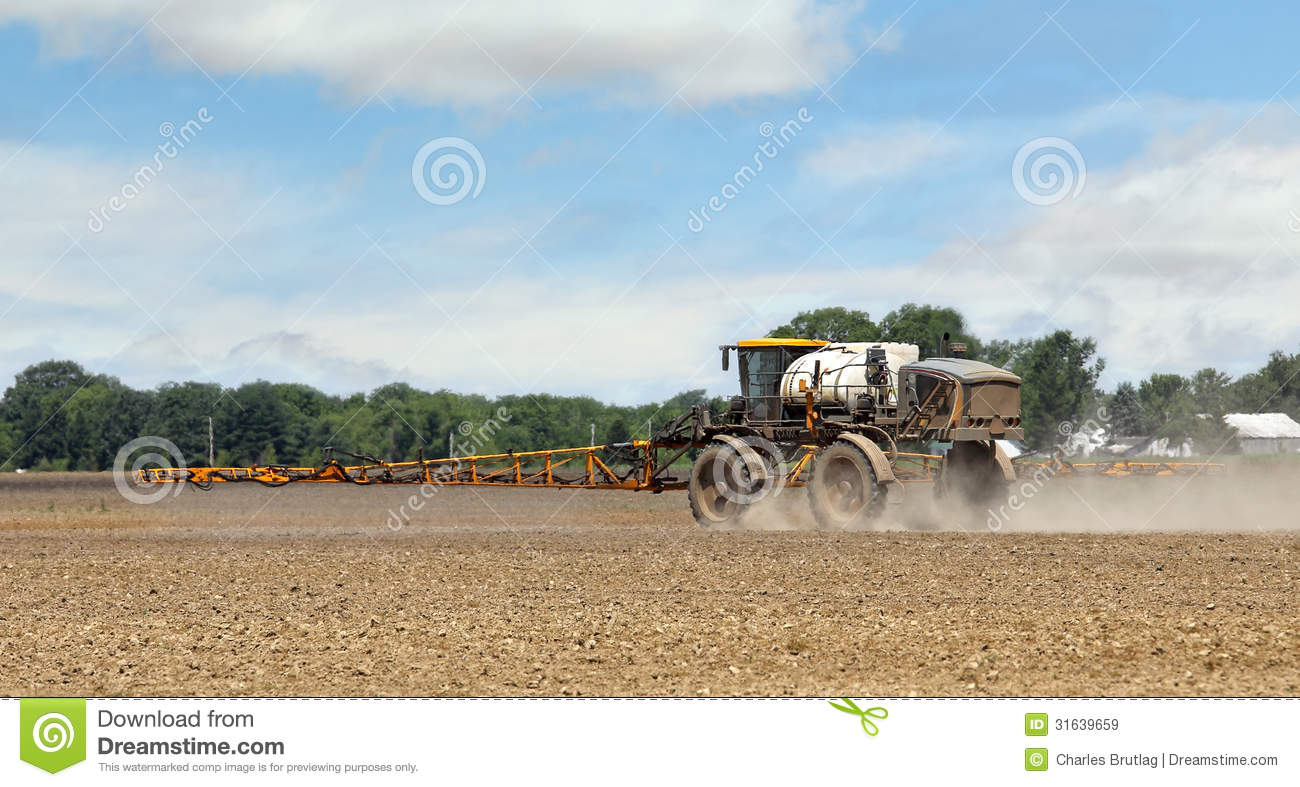 Spraying herbicides royalty free stock images image for What substances are in soil