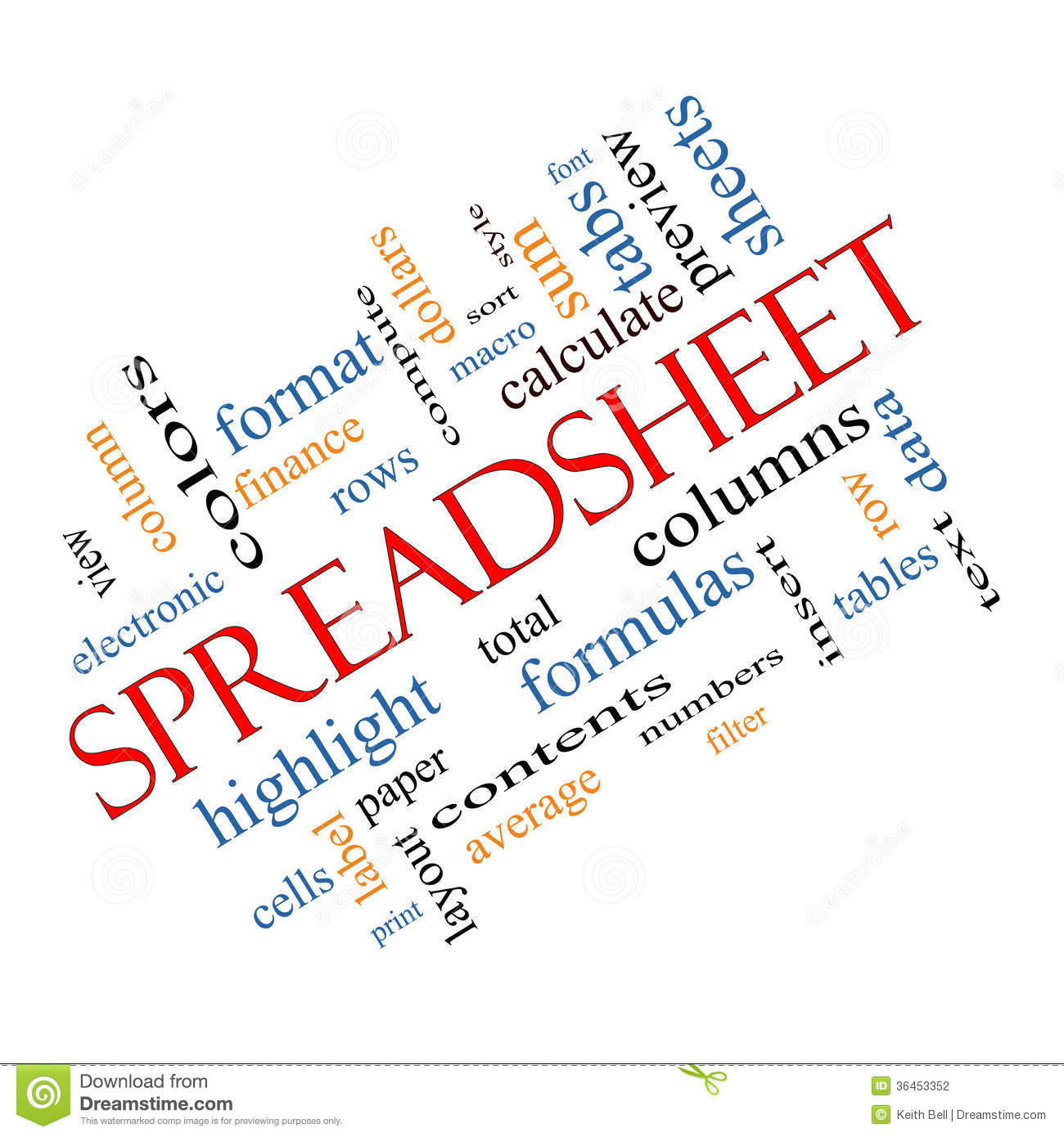Spreadsheet Computer Stock Images, Royalty-Free Images & Vectors