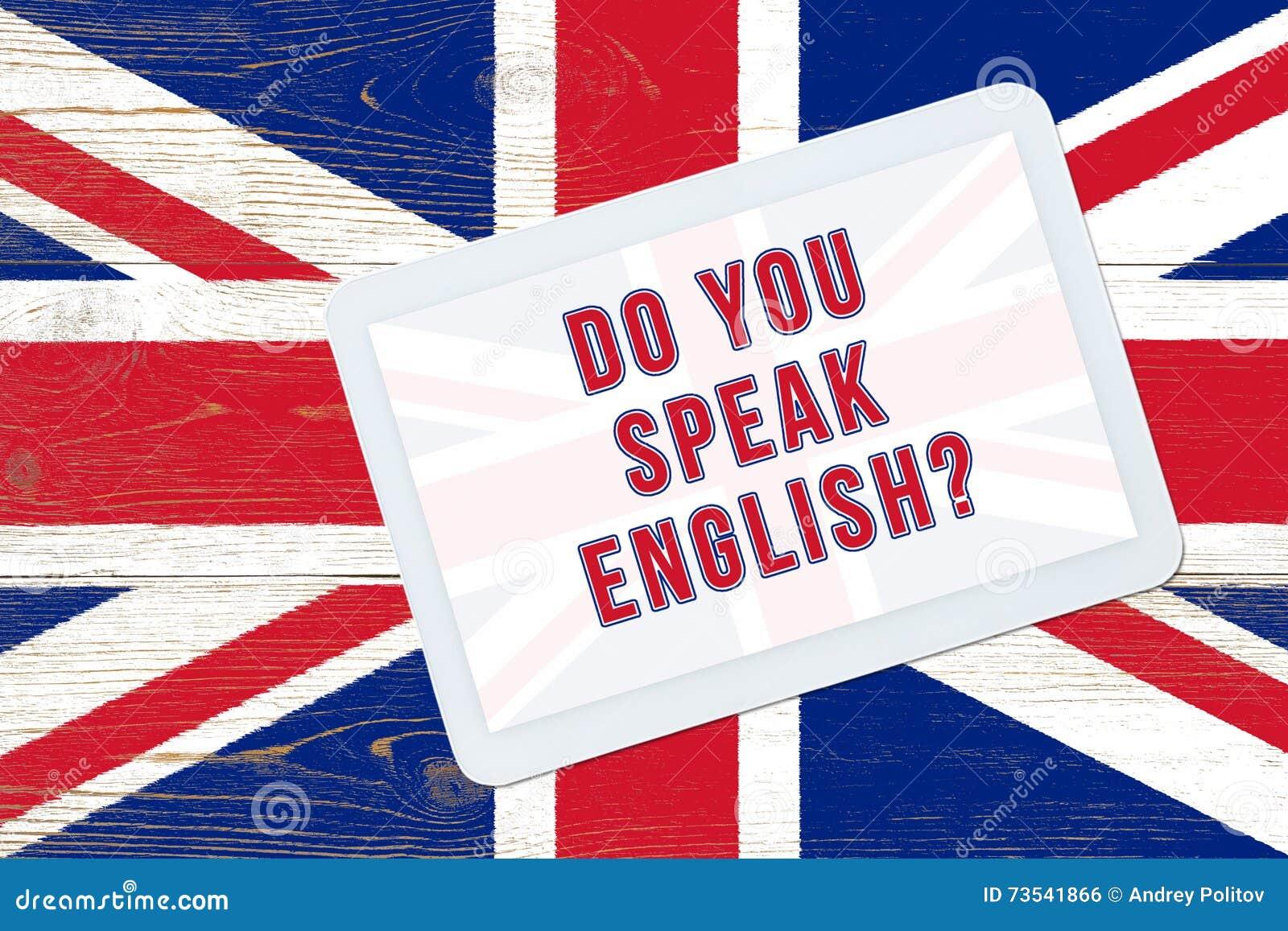 Sprechen Sie Englisch