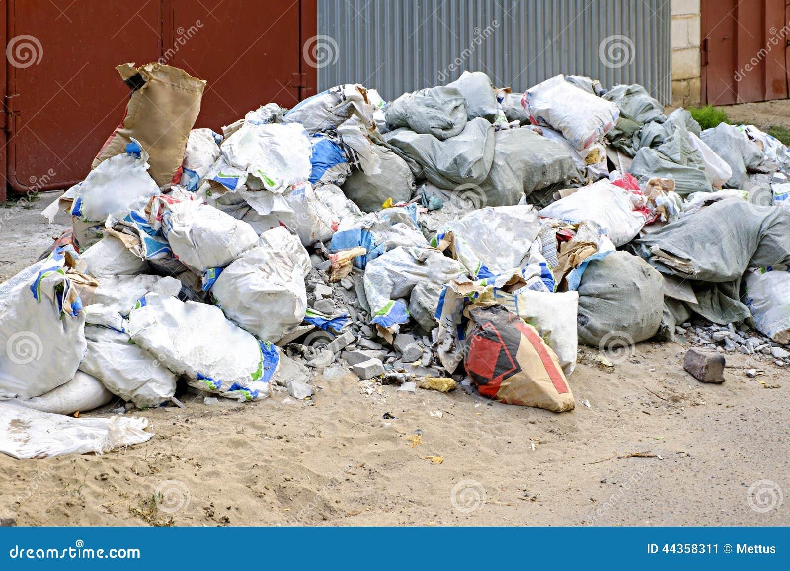 Spreco della costruzione nelle borse residue dei costruttori