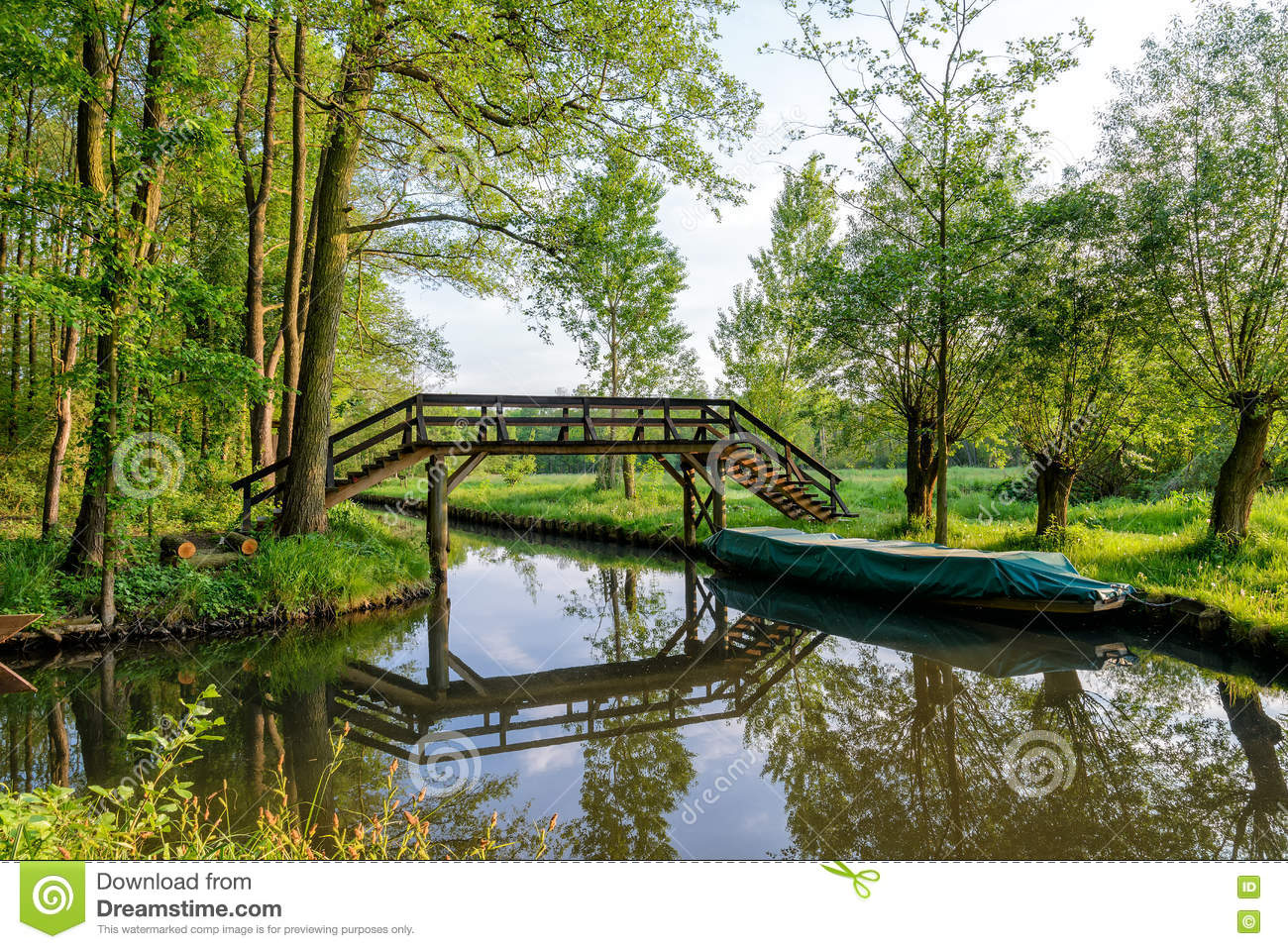 Spreewald Royalty-Free Stock Photo | CartoonDealer.com ...