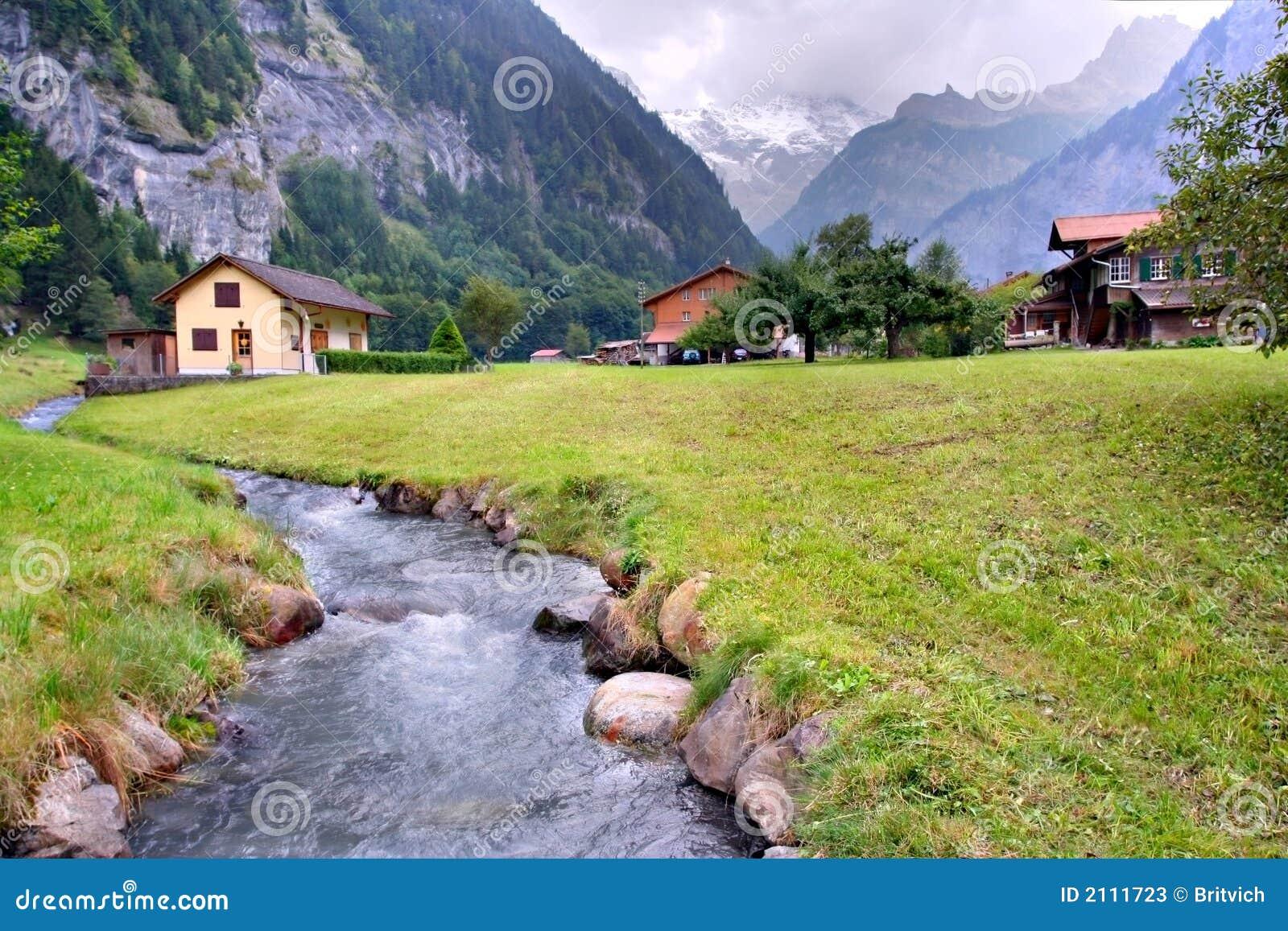 Spring Alps Switzerland Photos