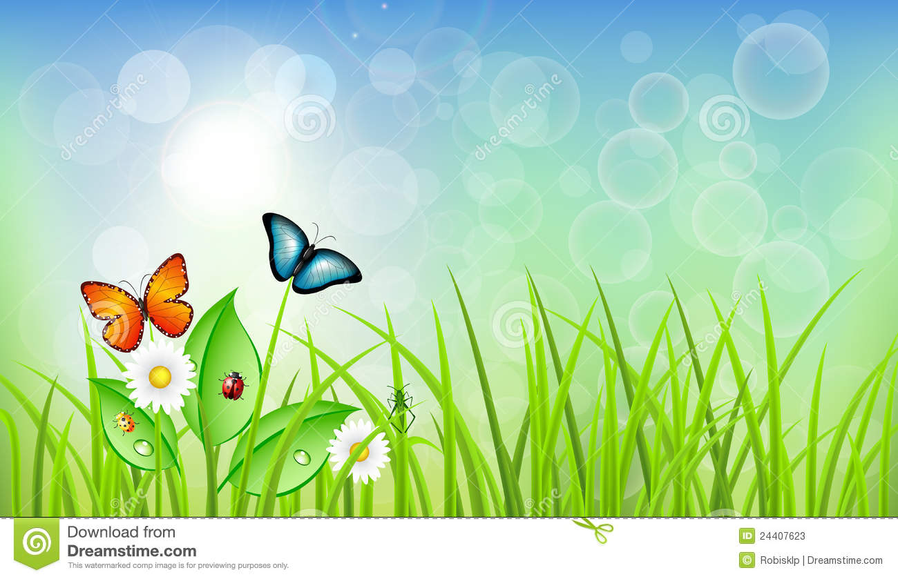 spring clipart background - photo #9
