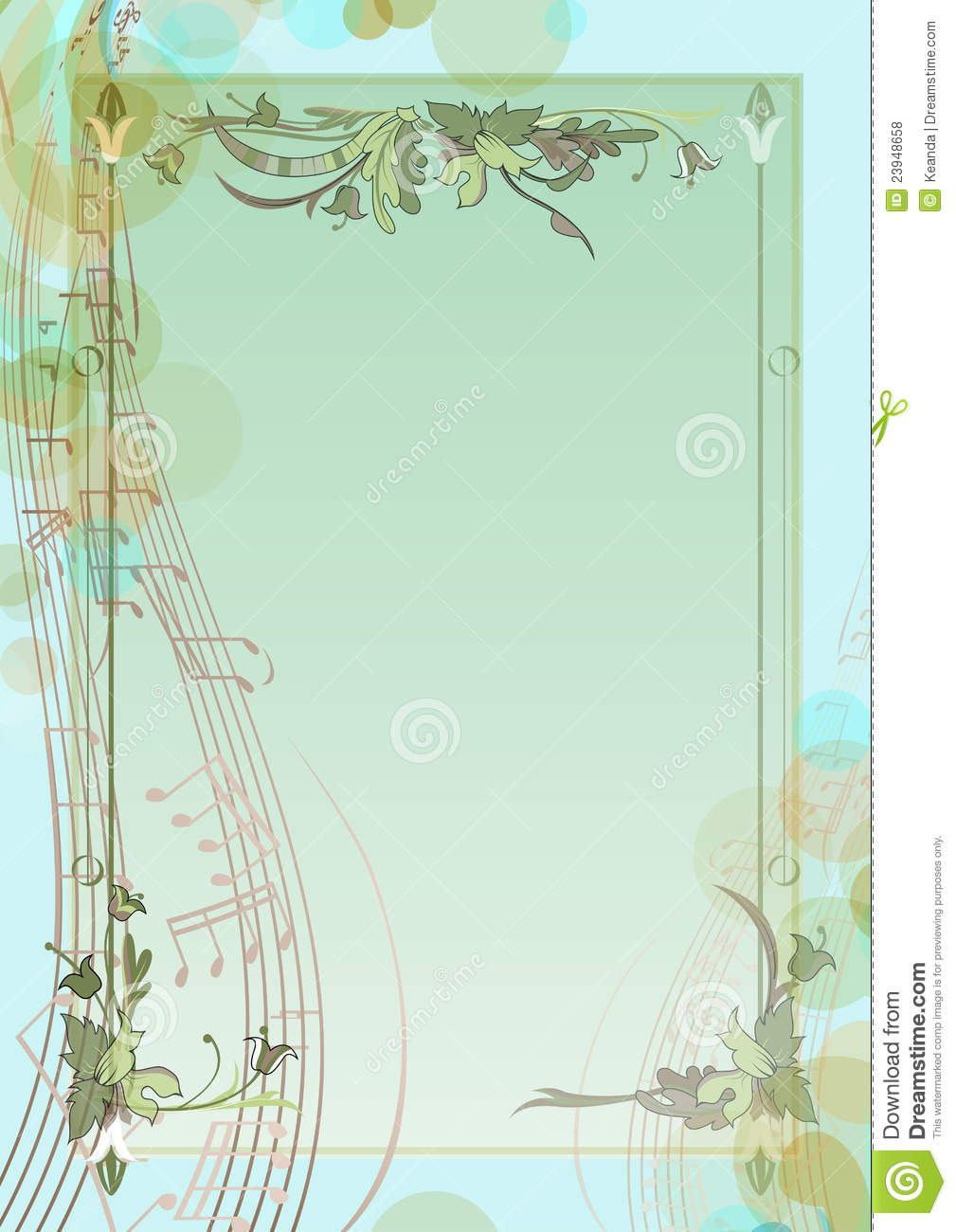 music notes backgrounds floral - photo #36