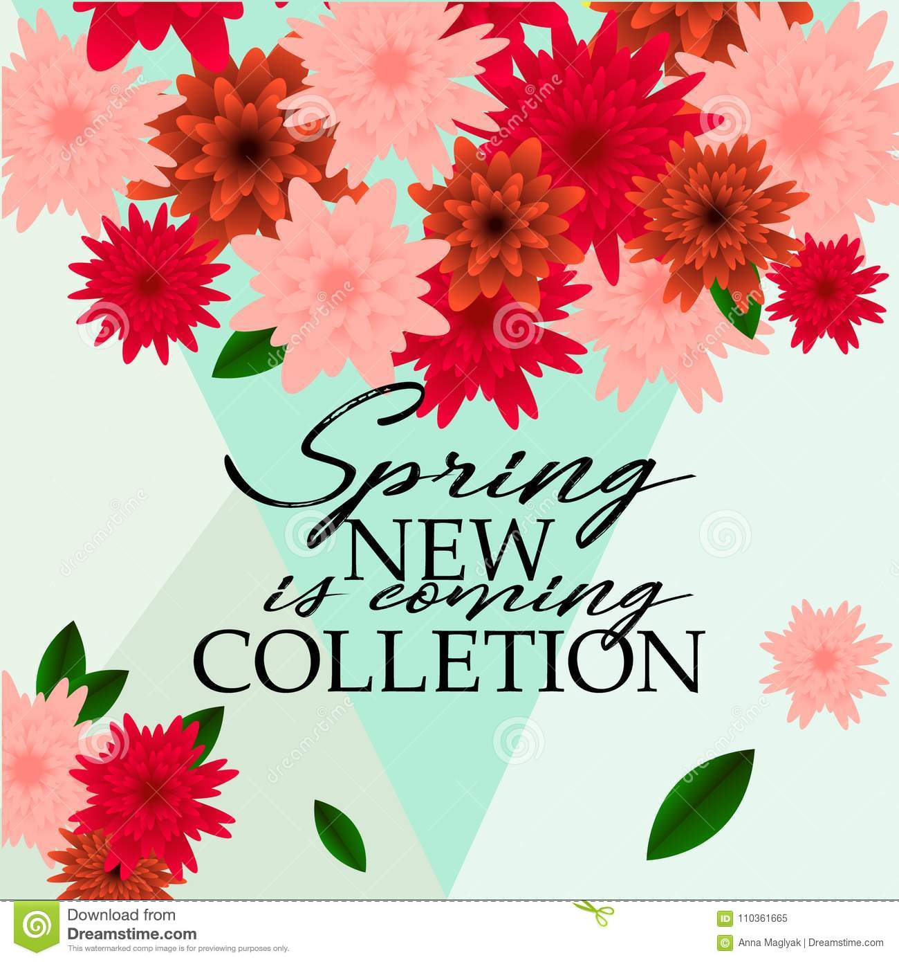 Spring banner with paper flowers for online shopping advertising download spring banner with paper flowers for online shopping advertising actions magazines and websites mightylinksfo