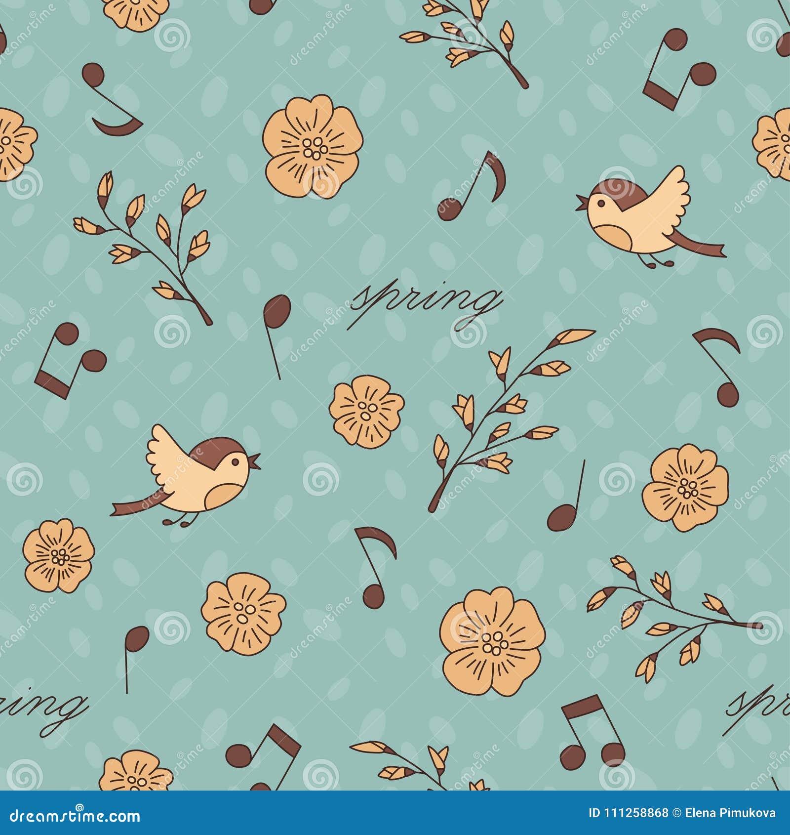 Best Wallpaper Music Spring - spring-birds-music-doodle-cartoon-seamless-pattern-spring-birds-music-doodle-cartoon-seamless-pattern-vector-eps-111258868  Trends_49421.jpg