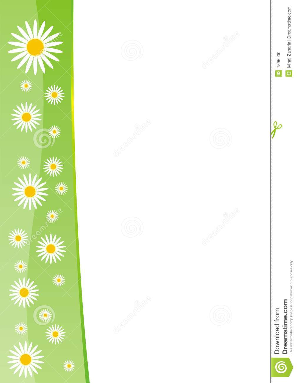 spring-border-template-7595930  D Letter C Template on printable box, cut out,
