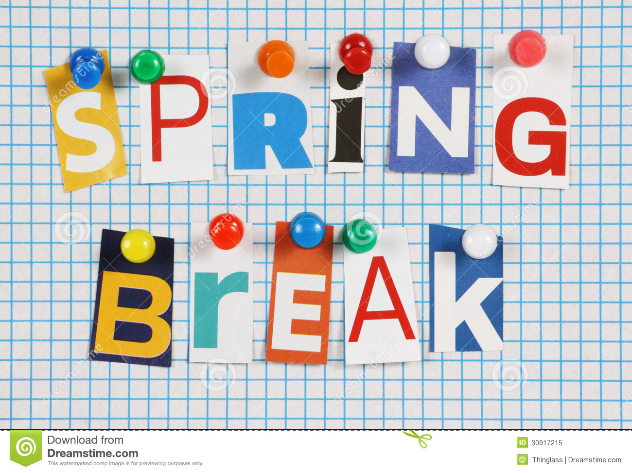 Image result for spring Break clip art