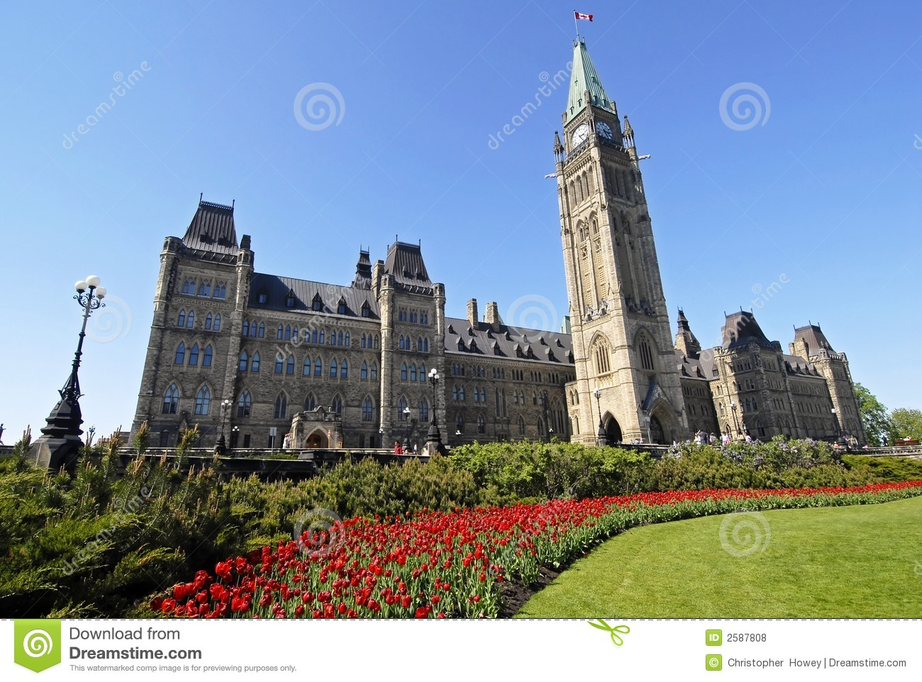 Spring at Canada's Parliament
