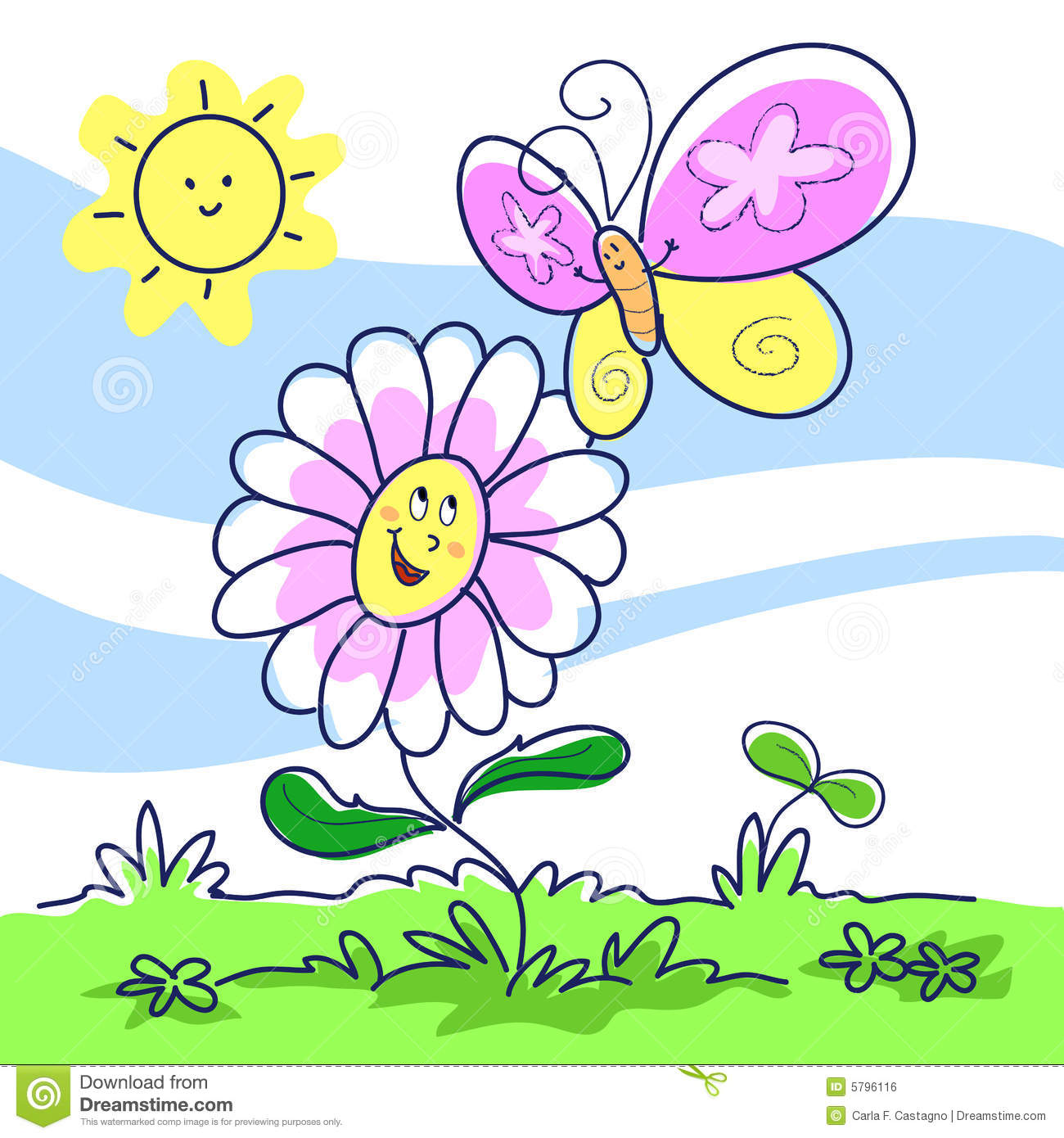 Scenery Spring Pictures Spring Pictures Cartoon