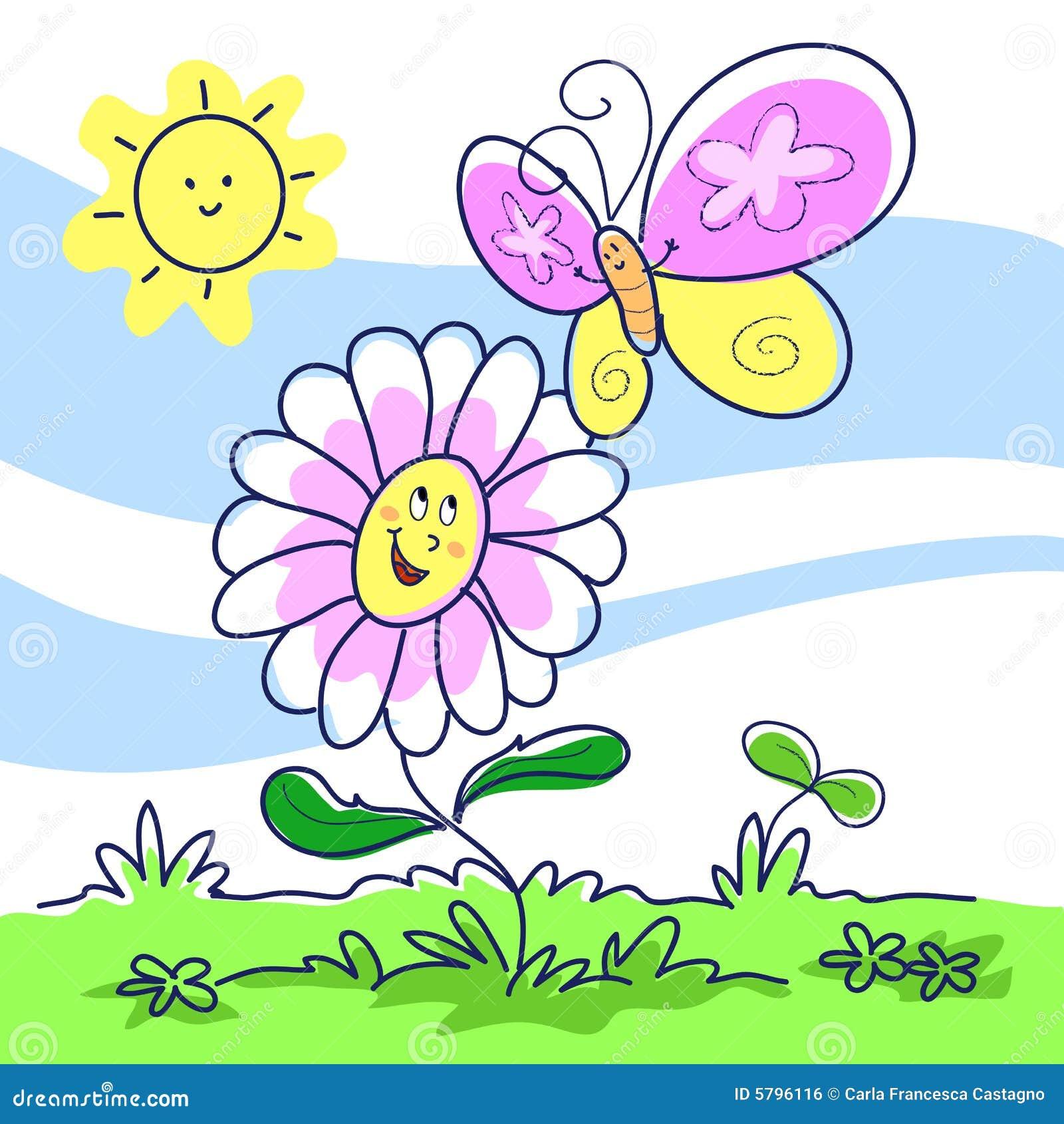 Spring cartoon illustration stock vector illustration of spring cartoon illustration biocorpaavc