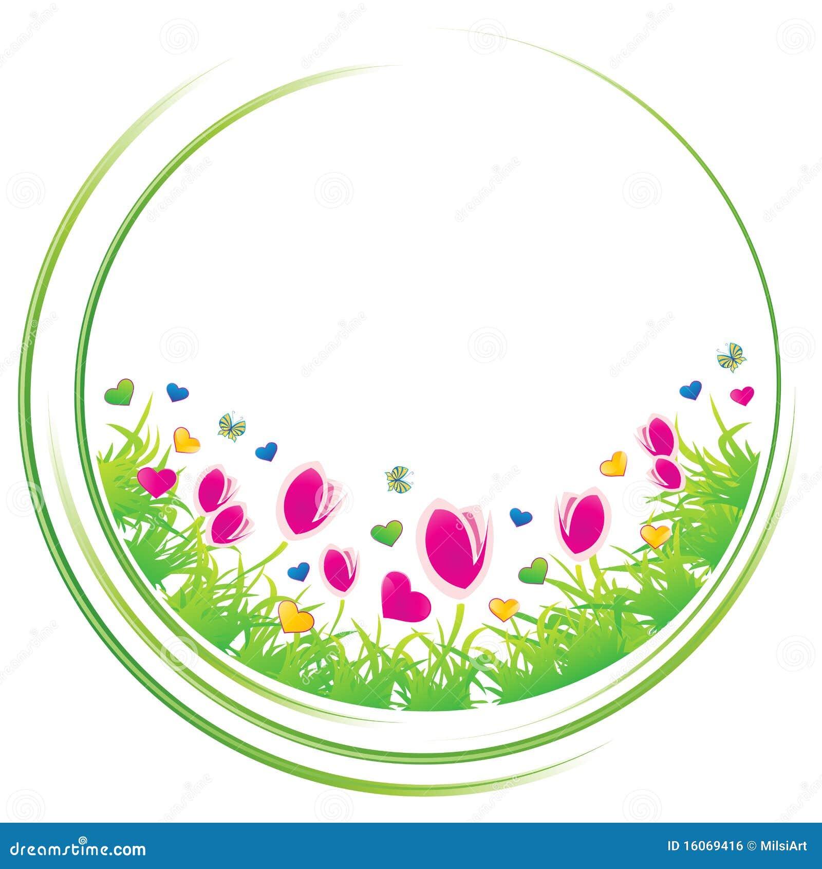 spring circle royalty free stock image image 16069416