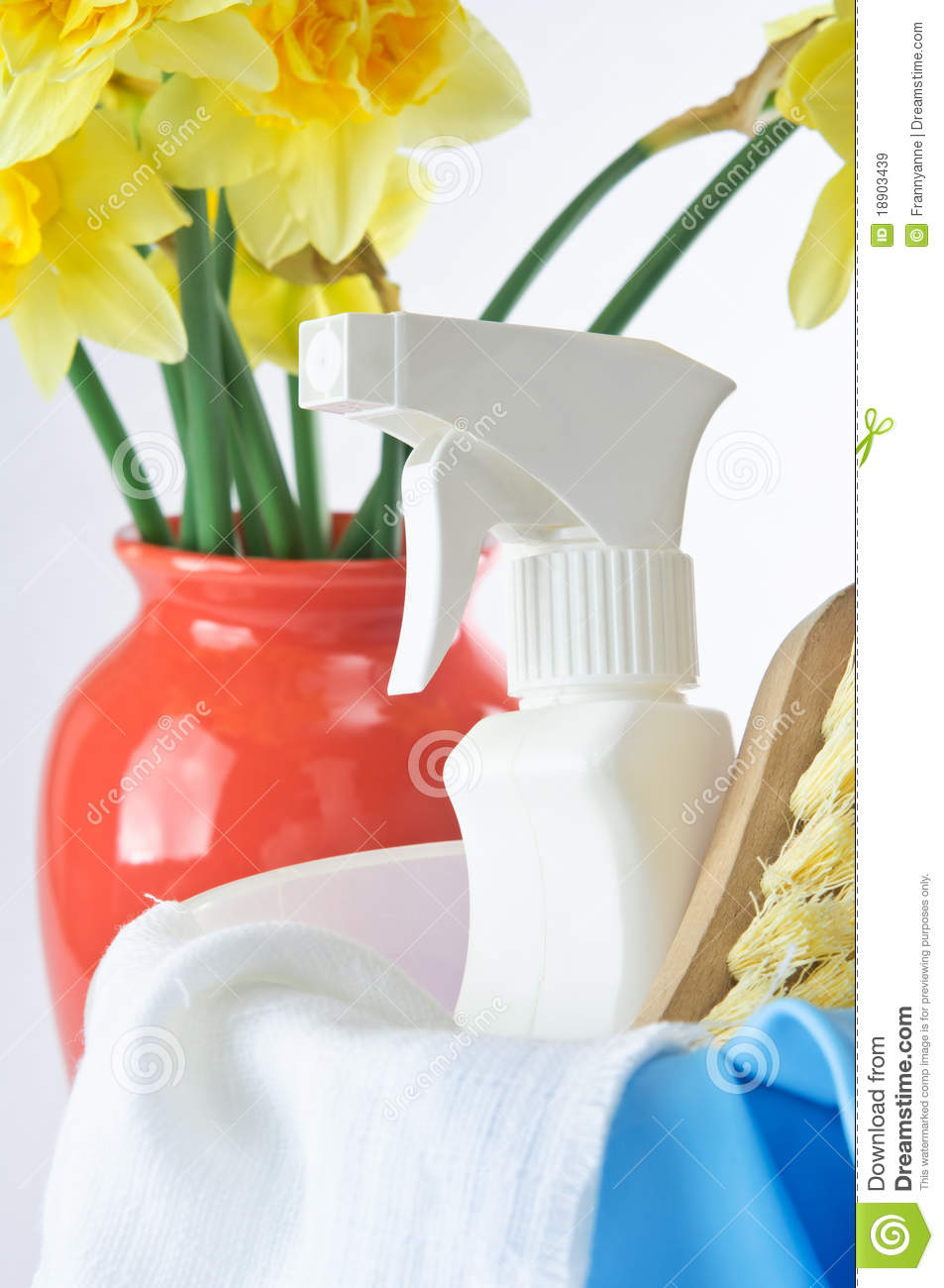 Download Spring Cleaning stock image. Image of bristles, duster - 18903439