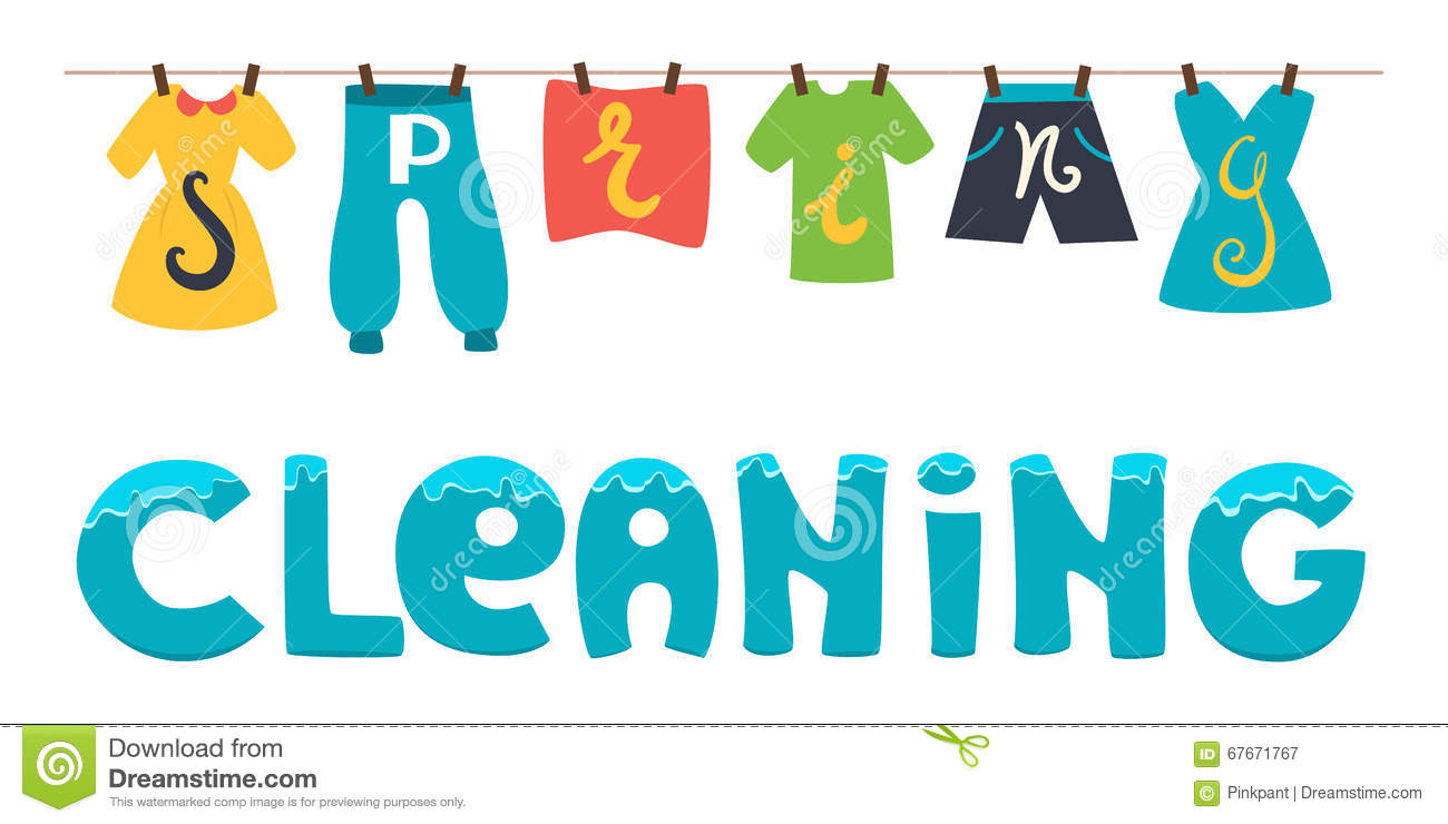 spring cleaning stock illustrations 1 058 spring cleaning stock rh dreamstime com work spring cleaning clipart office spring cleaning clipart