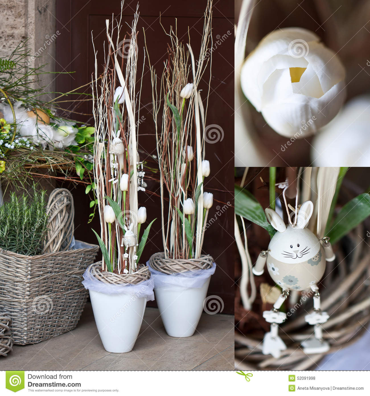 Spring Decoration Flower Shop Stock Photo Image Of Colorful