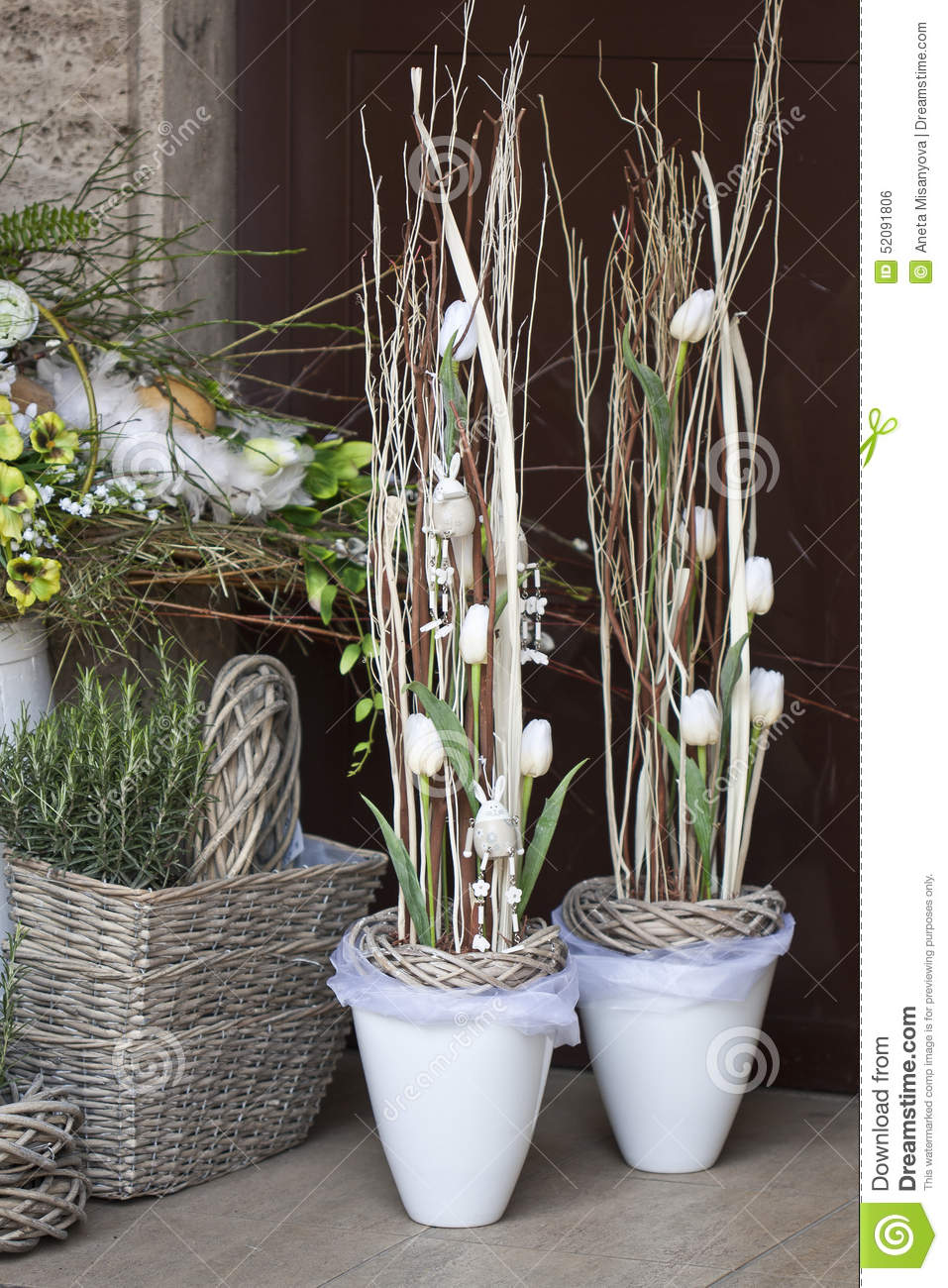 Spring Decoration Flower Shop Stock Photo Image Of Beauty Flower
