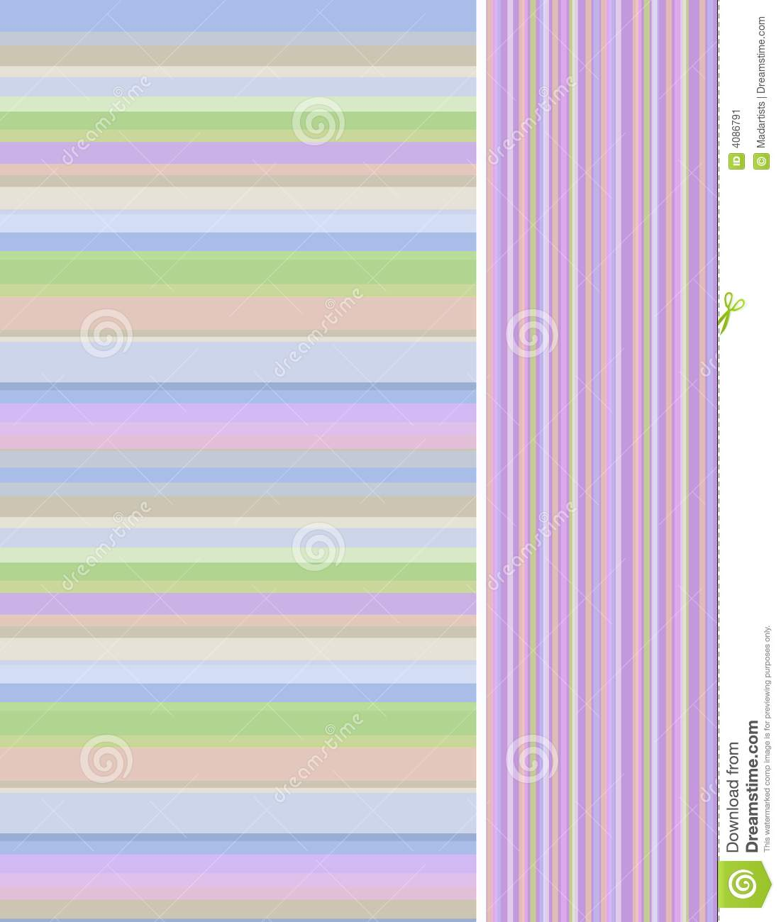 Spring Easter Abstract Stripes Background 2 Stock