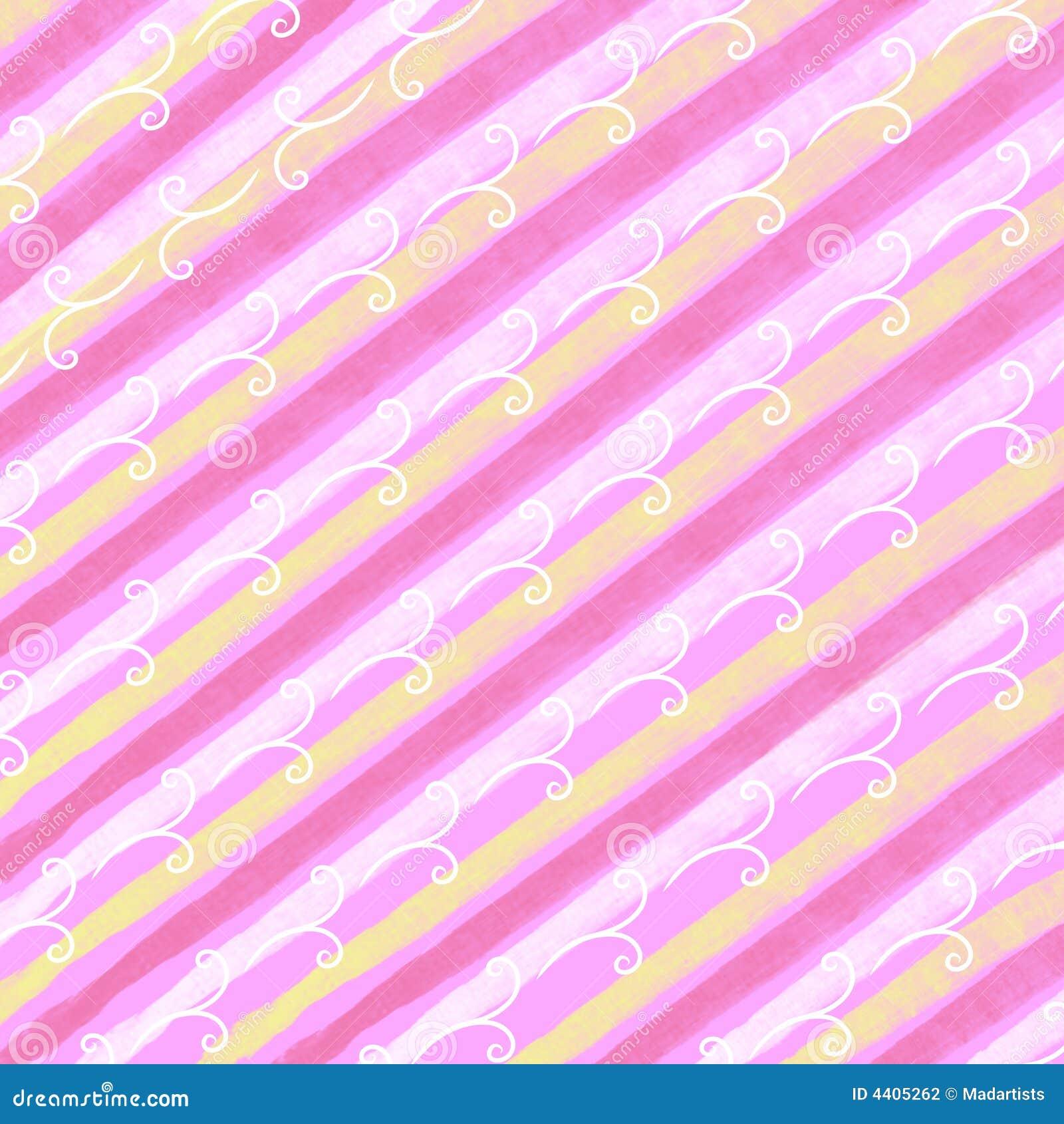 Spring Easter Stripes Pattern