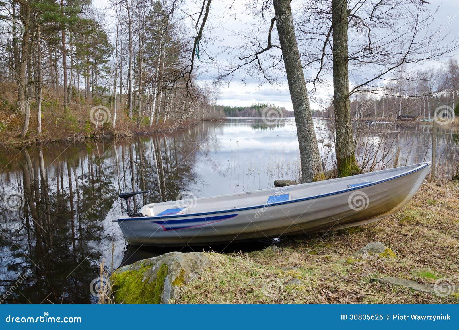 Spring Eco Fishing Royalty Free Stock Photo - Image: 30805625