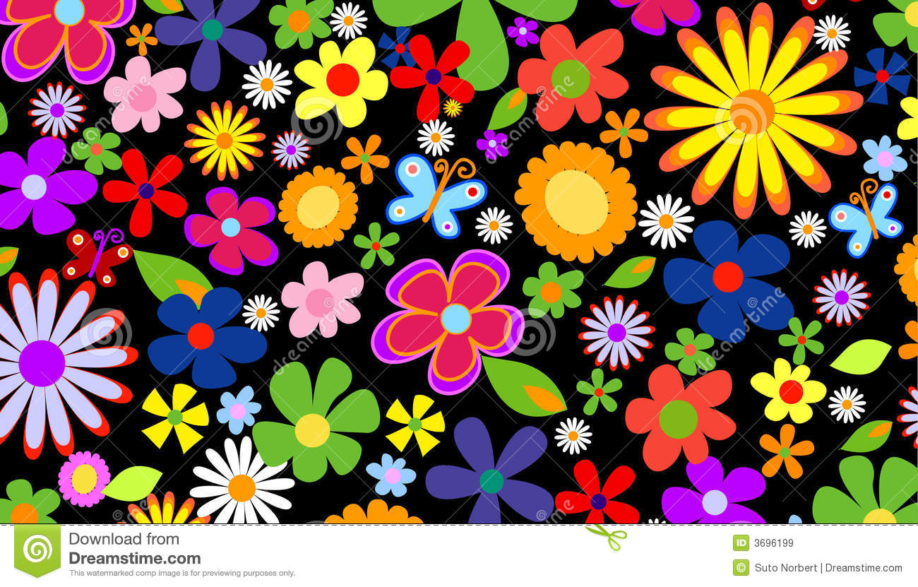 Spring Flower Background Stock Vector Illustration Of Marriage