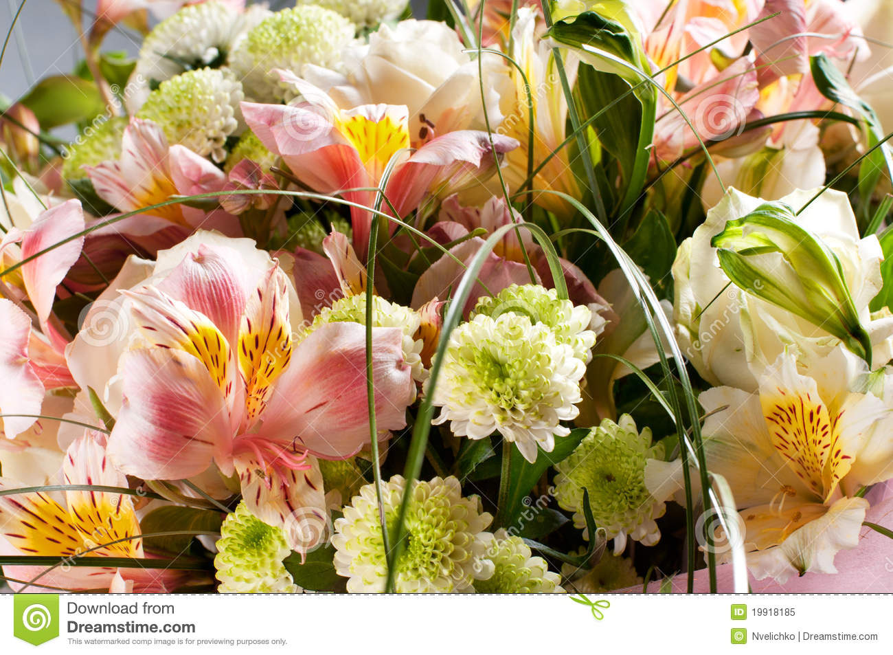 Spring flowers bouquet stock image image of beauty for A lot of different flowers make a bouquet