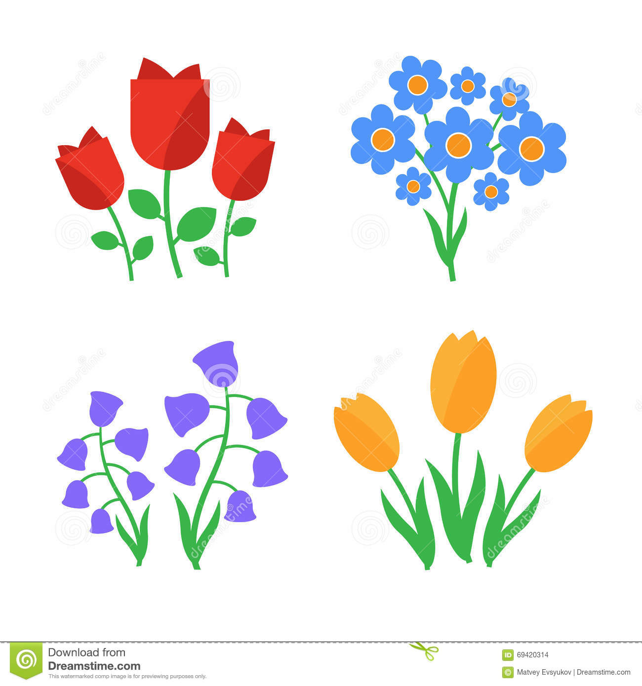 Cute spring flower - Spring Flowers Fun And Cute Spring Flowers Icons