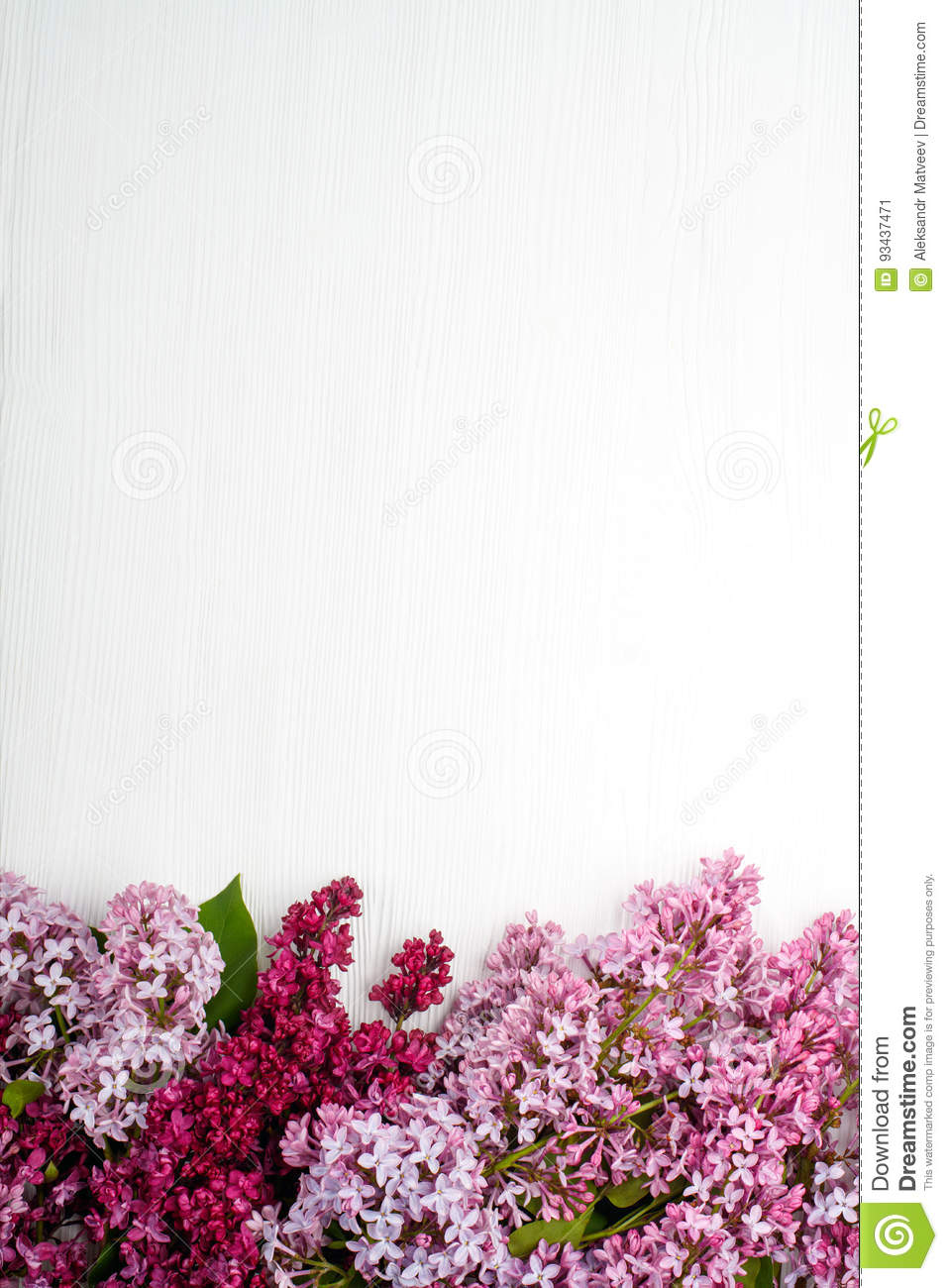 Spring flowers lilac flowers on white wooden background top view spring flowers lilac flowers on white wooden background top view flat lay copy space mightylinksfo
