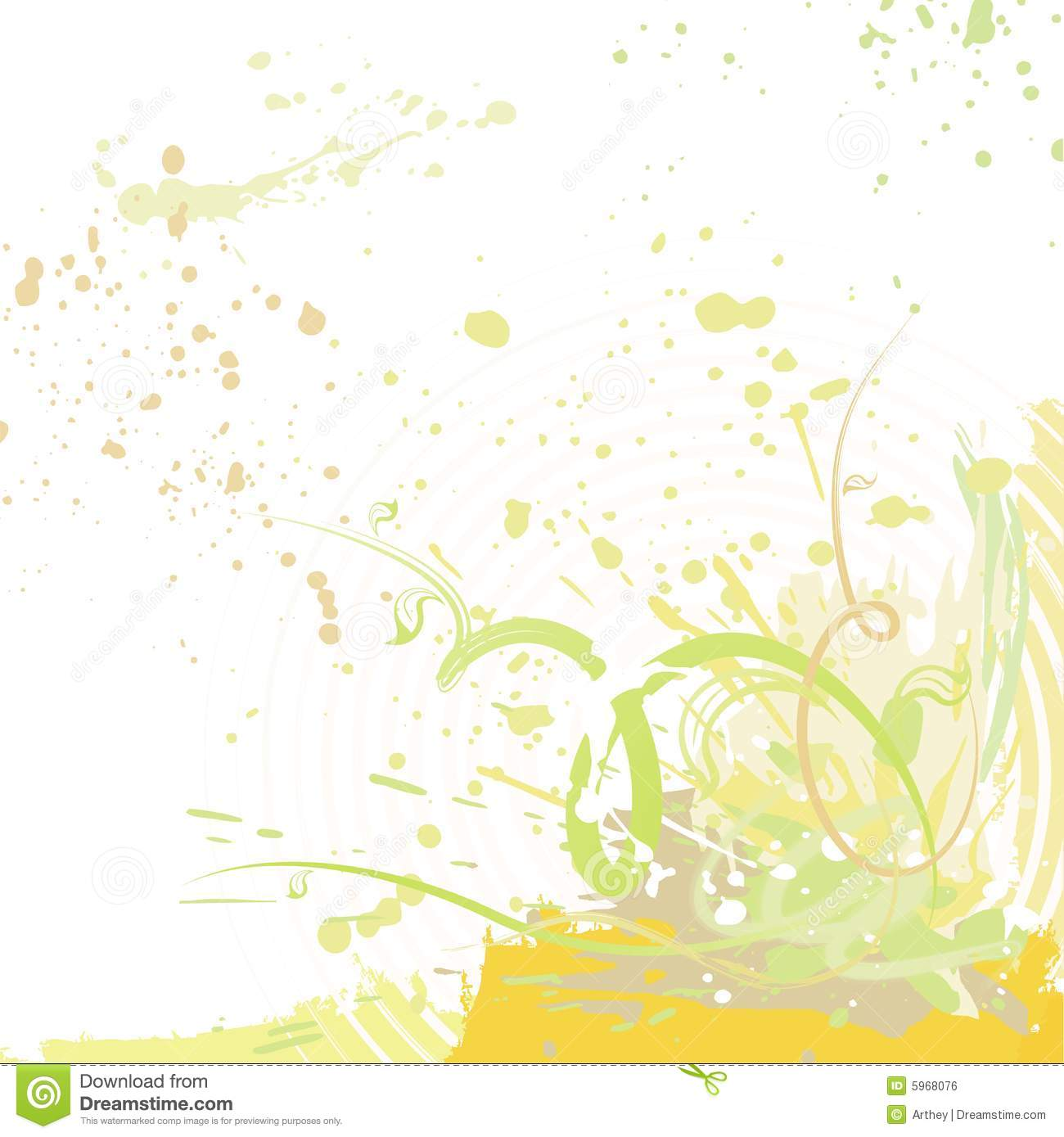 Spring Grunge Background