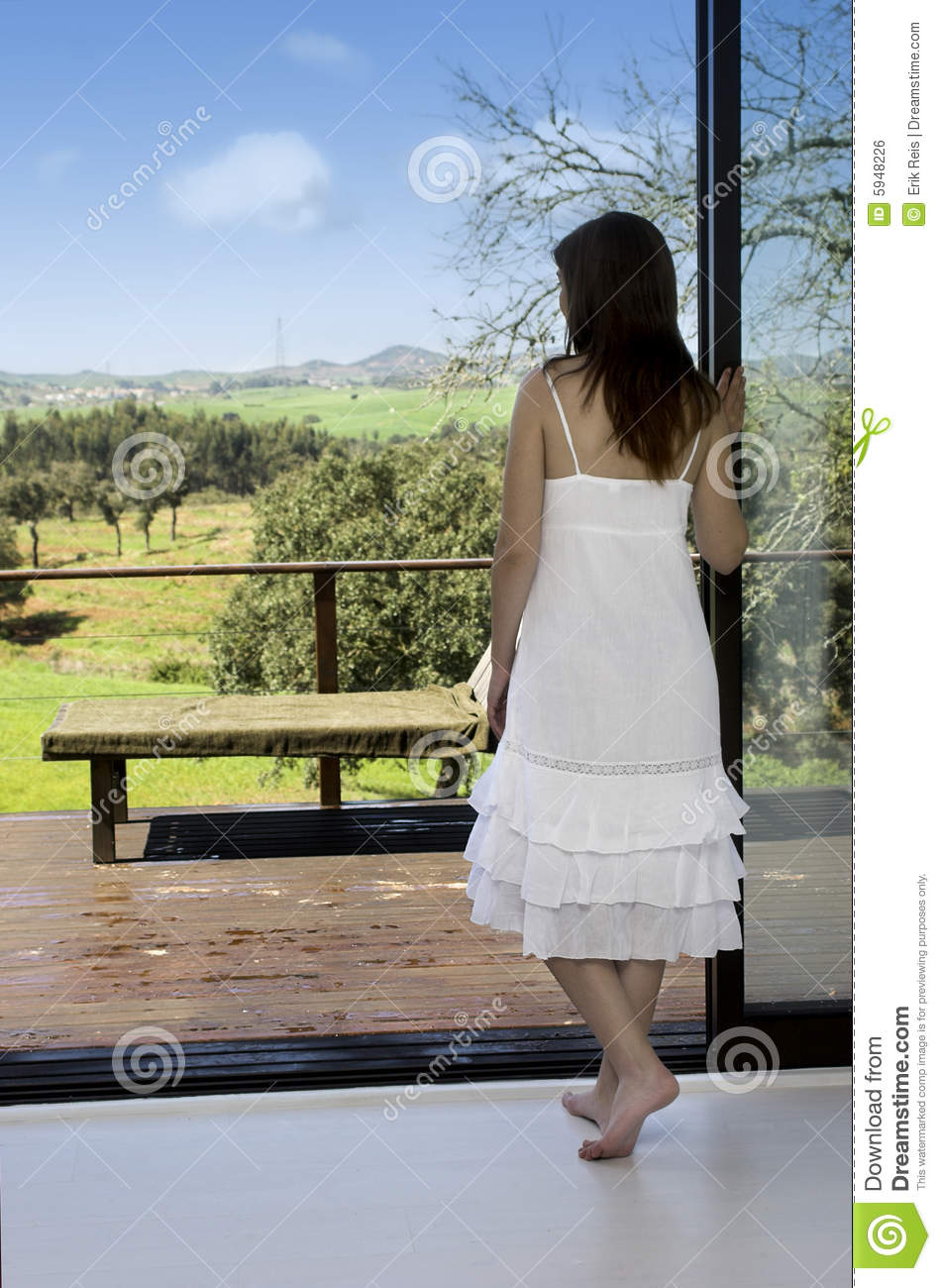Spring Has Come Stock Photo Image Of Dress Relax Nature 5948226
