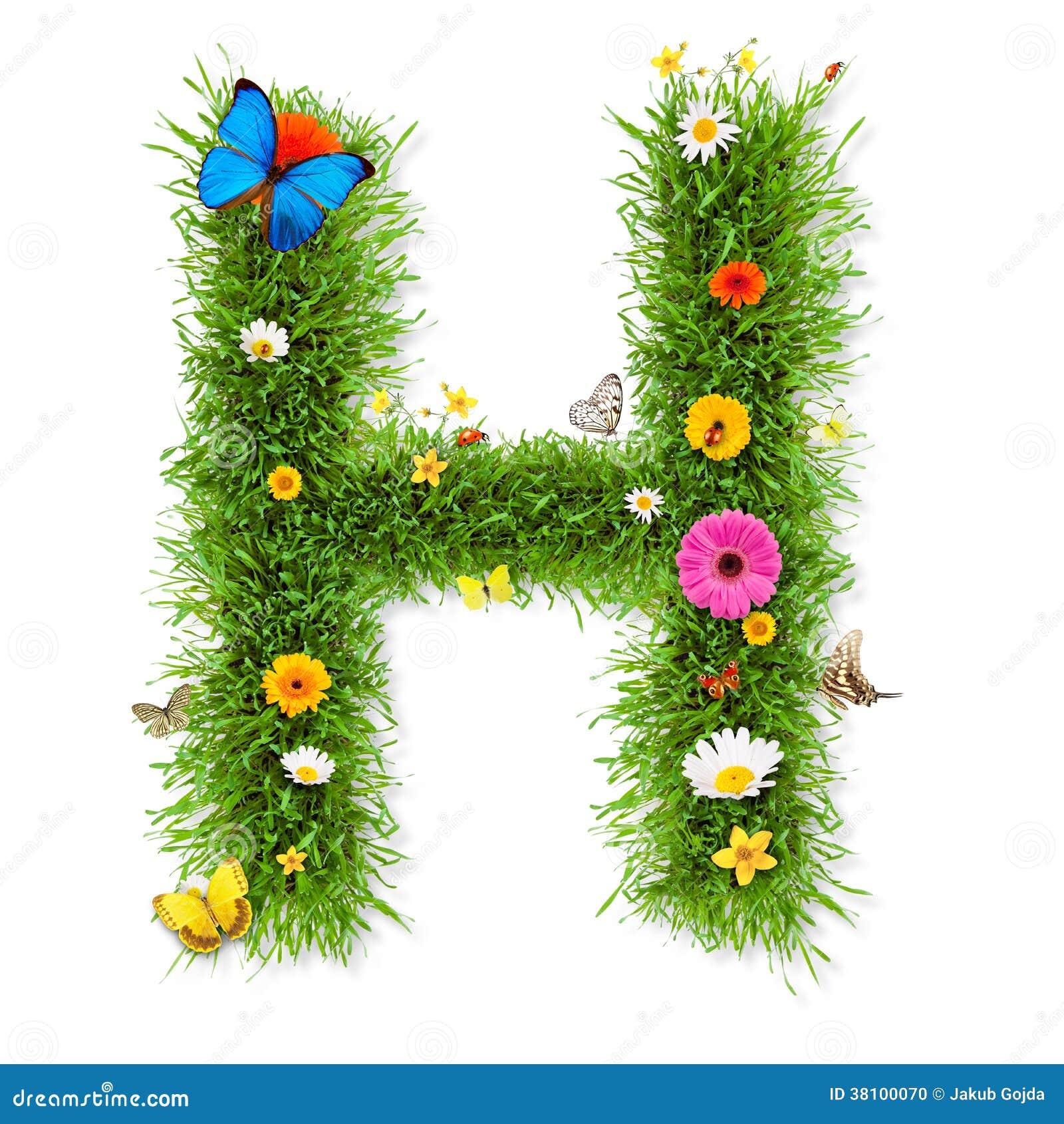 Easter Flower  Letters