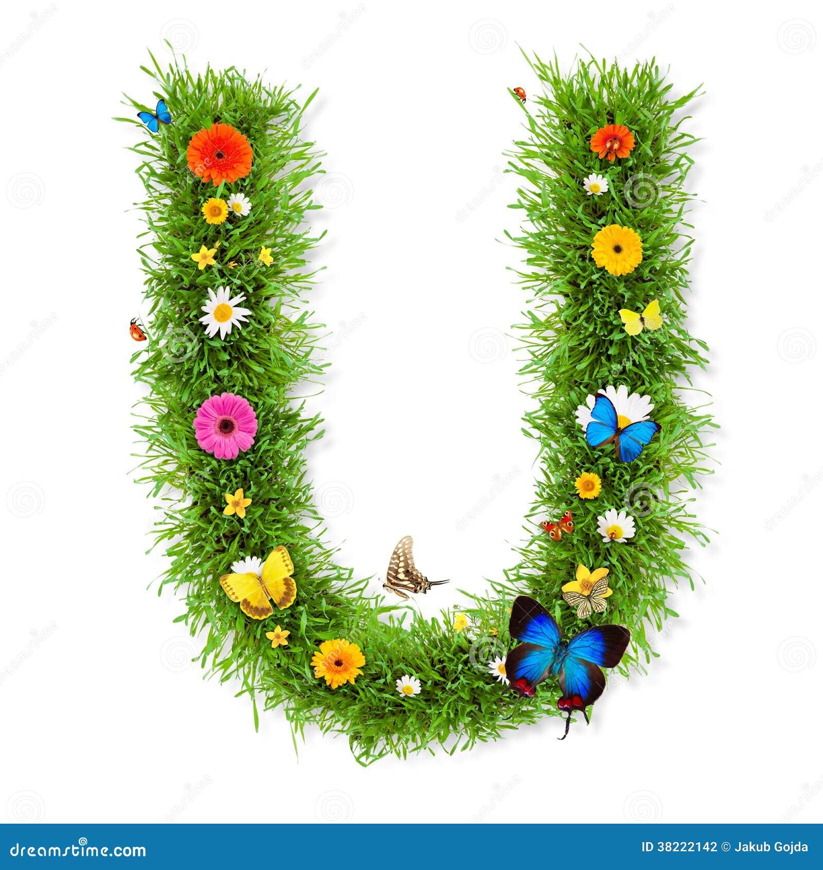 Spring Letter U Stock Illustration Illustration Of Environmental