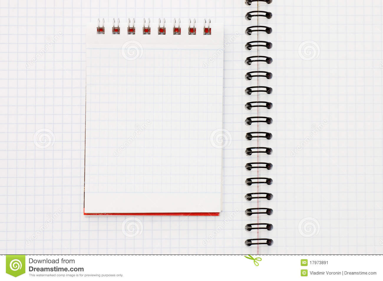 Spring At A Notebook Stock Image - Image: 17973891
