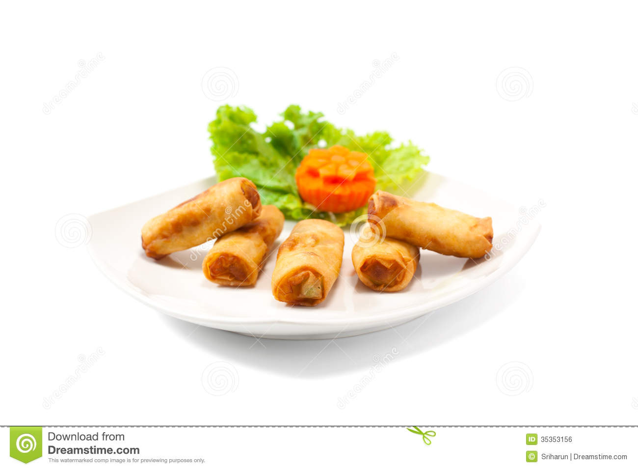 free clipart spring rolls - photo #16