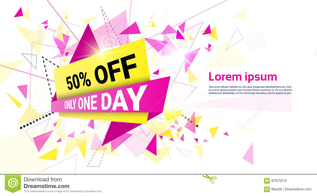 841ce02cc3f Spring Sale Shopping Special Offer Holiday Banner Stock Vector ...