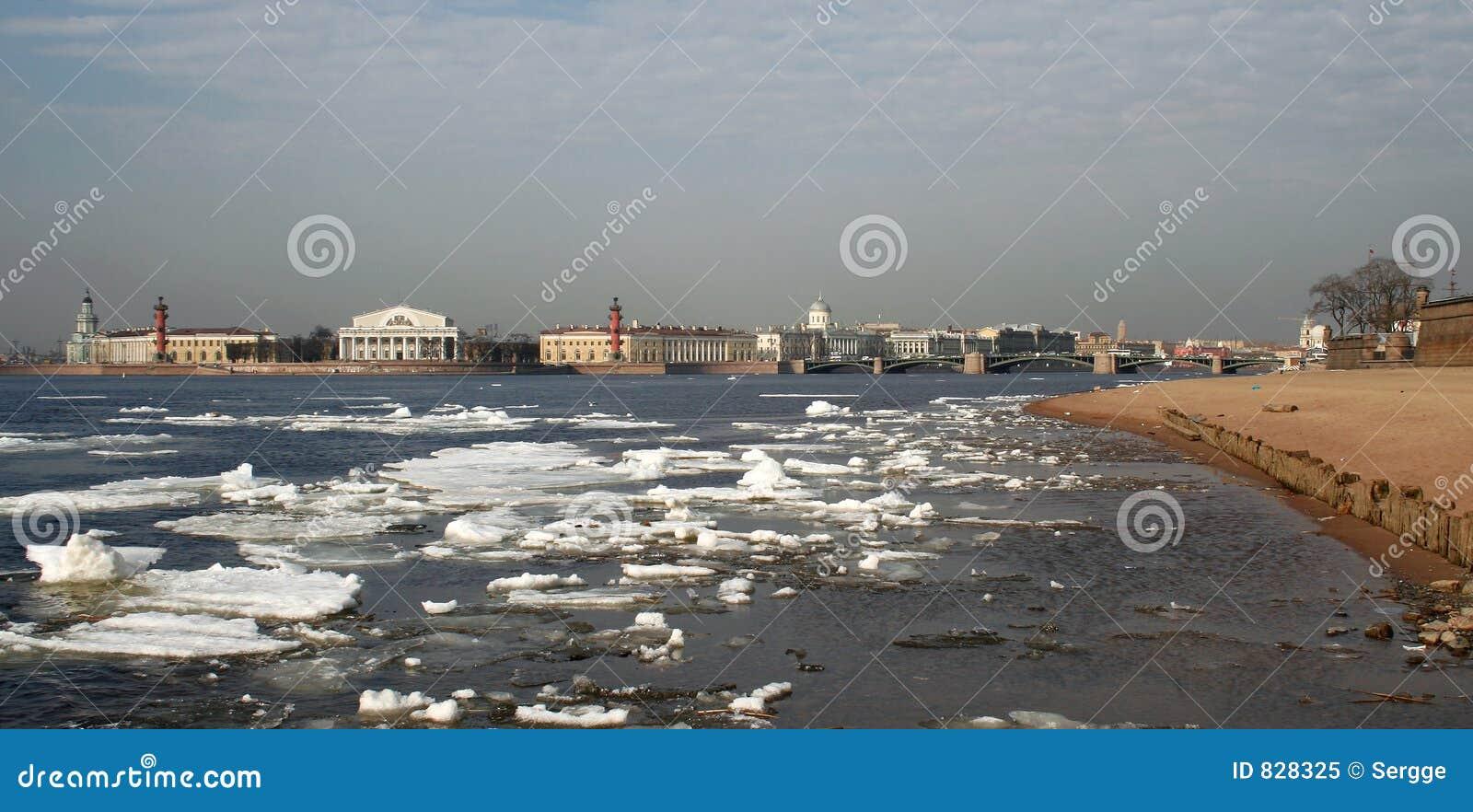 Spring in St Petersburg