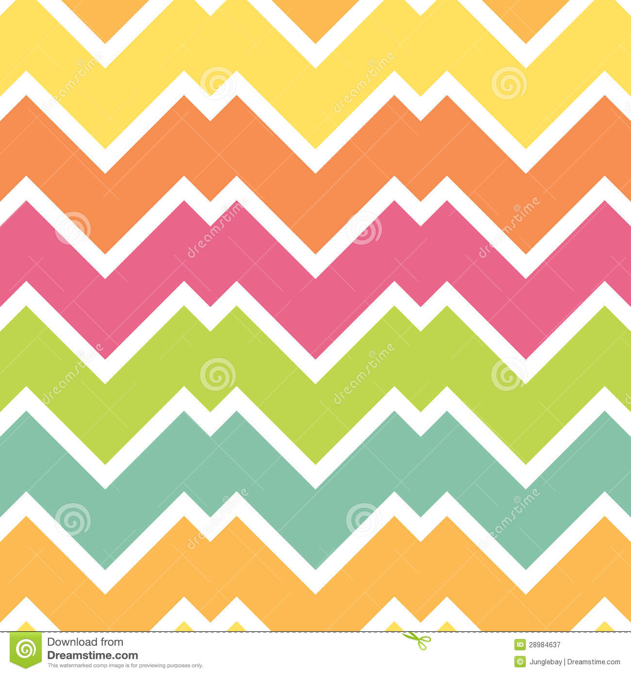 Spring Summer Candy Chevron Royalty Free Stock Photography ...