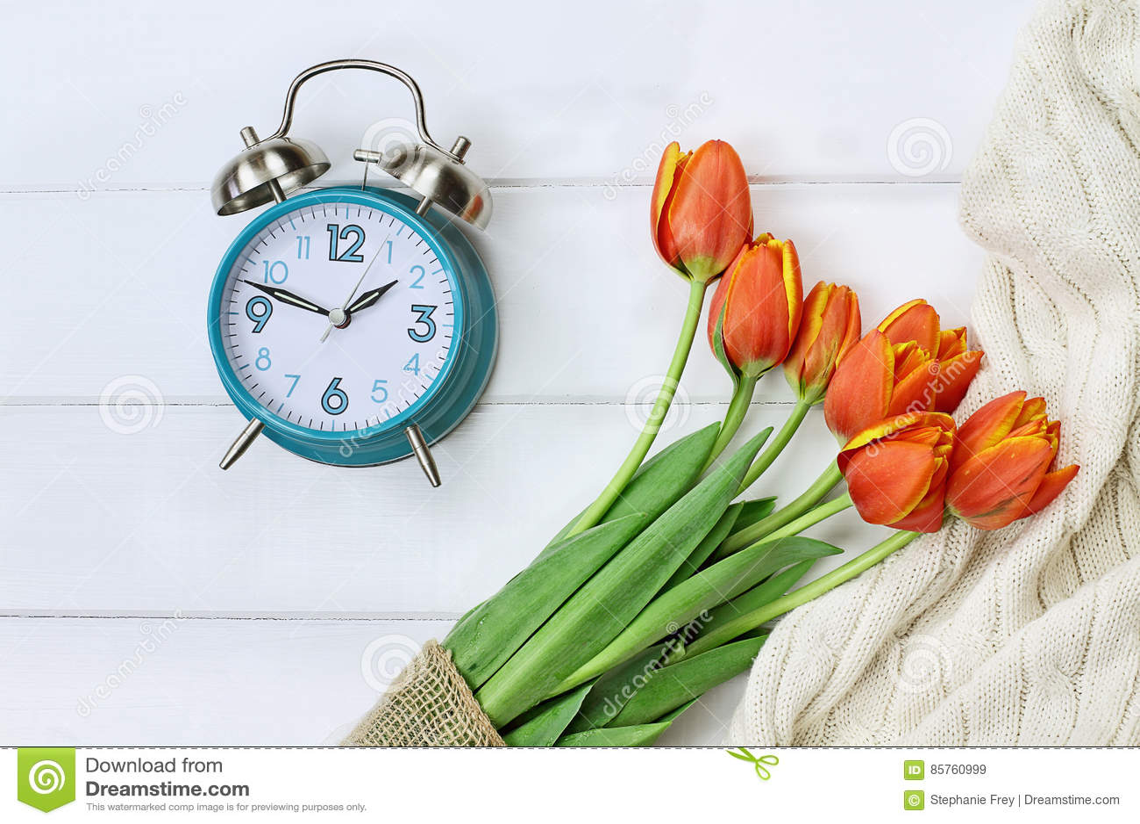 Spring Time Change Daylight Savings Stock Image - Image of aerial