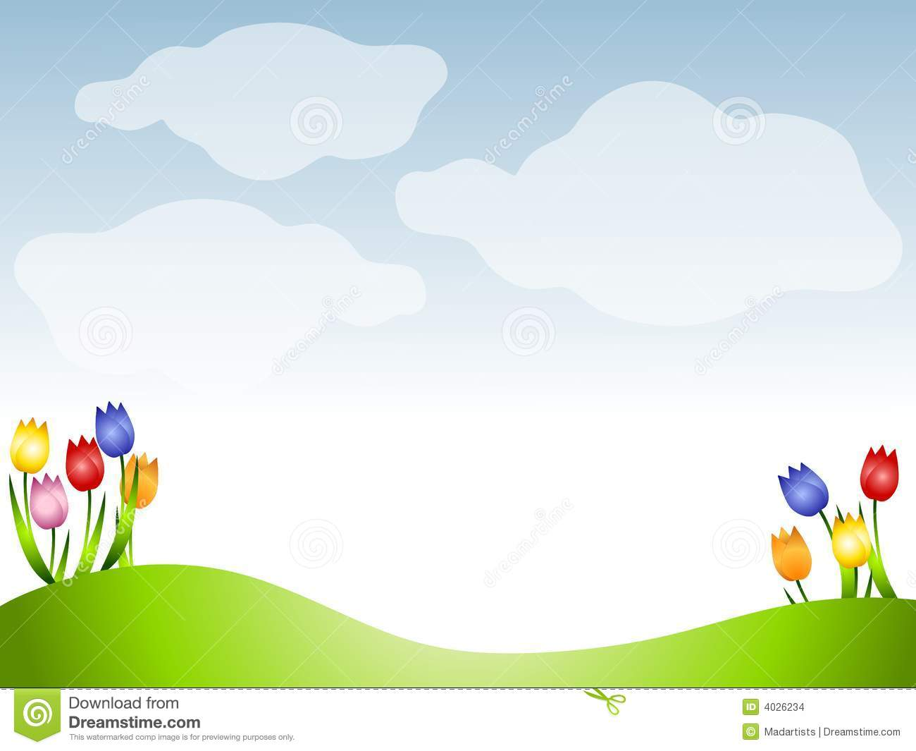 spring clipart background - photo #43