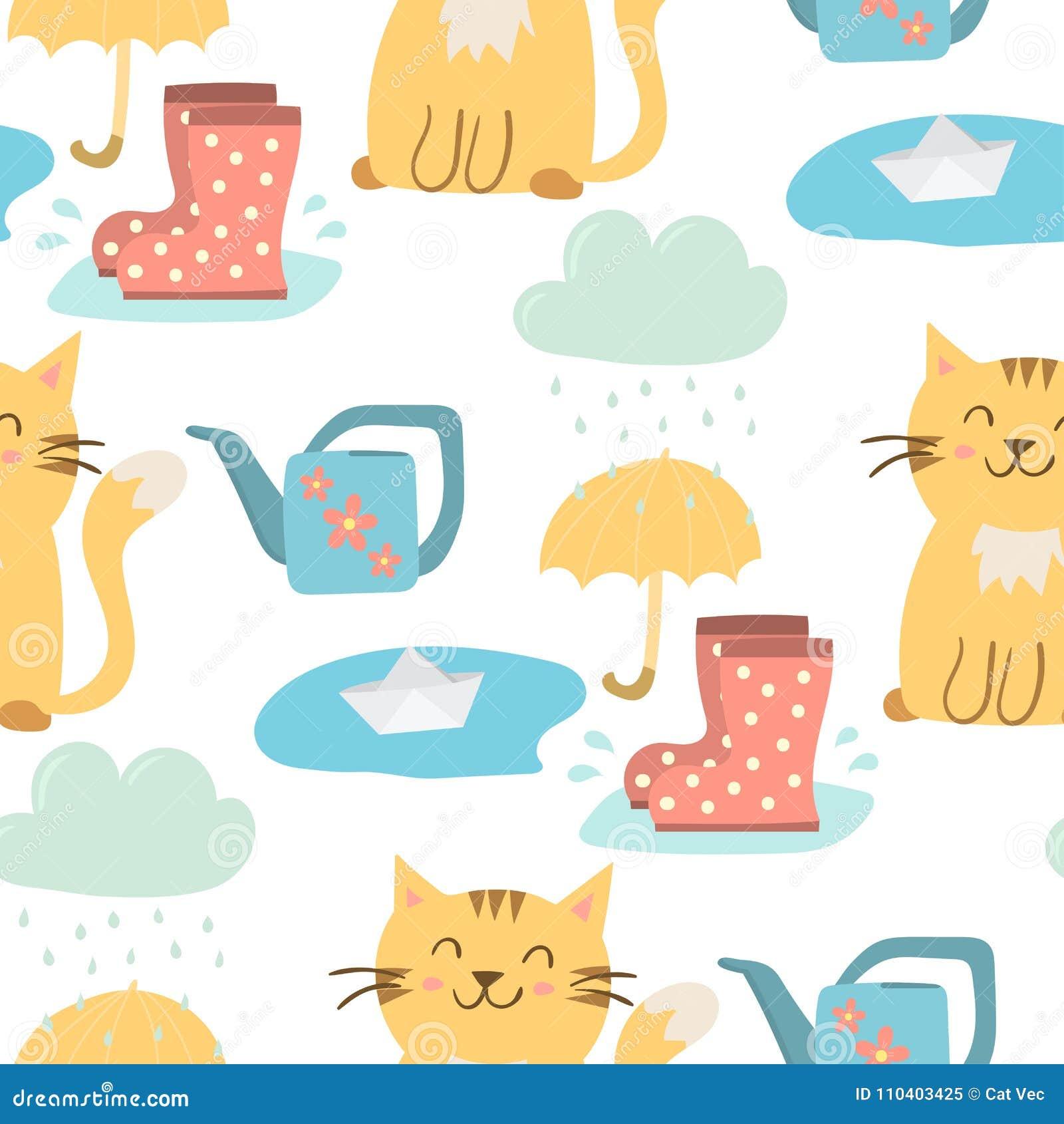 Spring Rain Stock Illustrations – 16,906 Spring Rain Stock ...