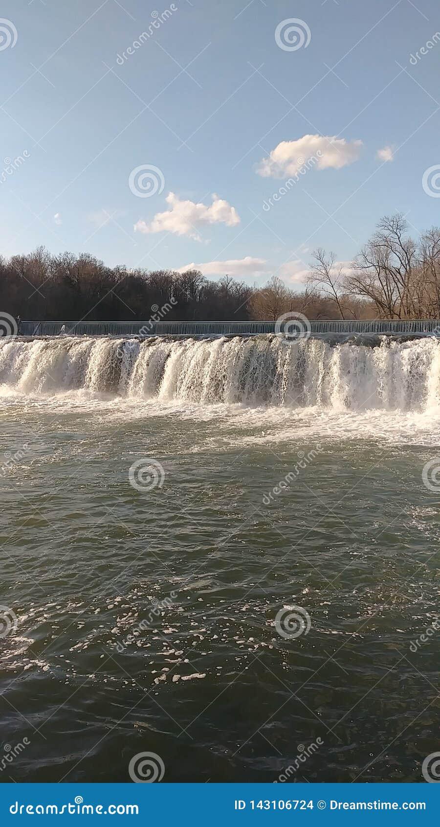 Spring Waters by Christina Farino Waterfall in Spring Joplin
