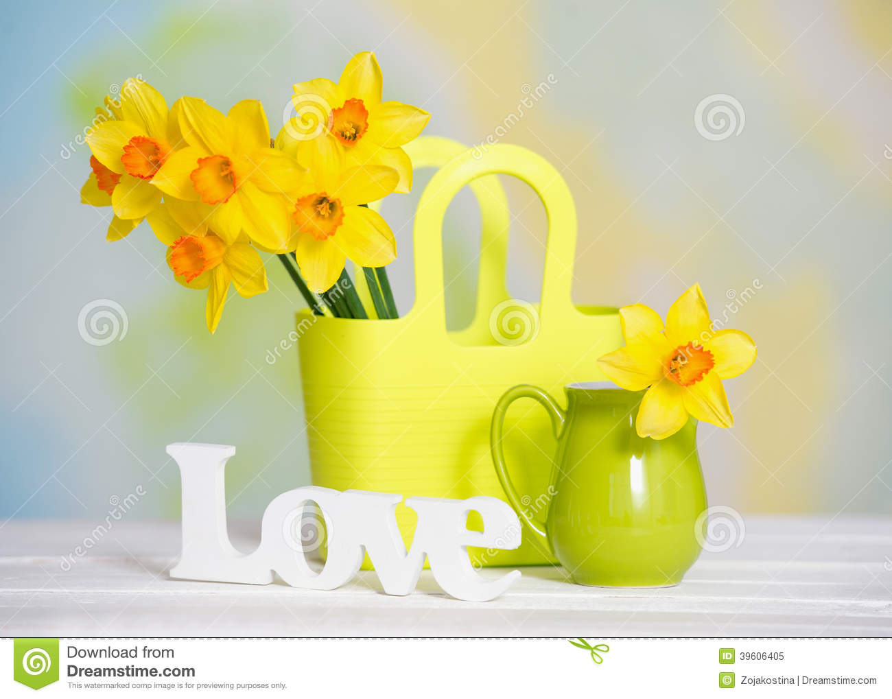Spring yellow flowers and love sign stock image image of bouquet spring yellow flowers and love sign mightylinksfo