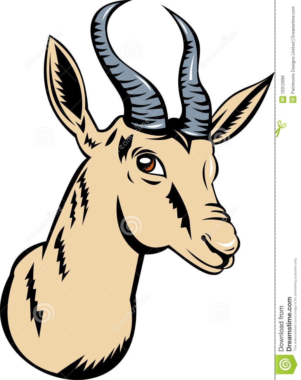 clipart springbok - photo #10